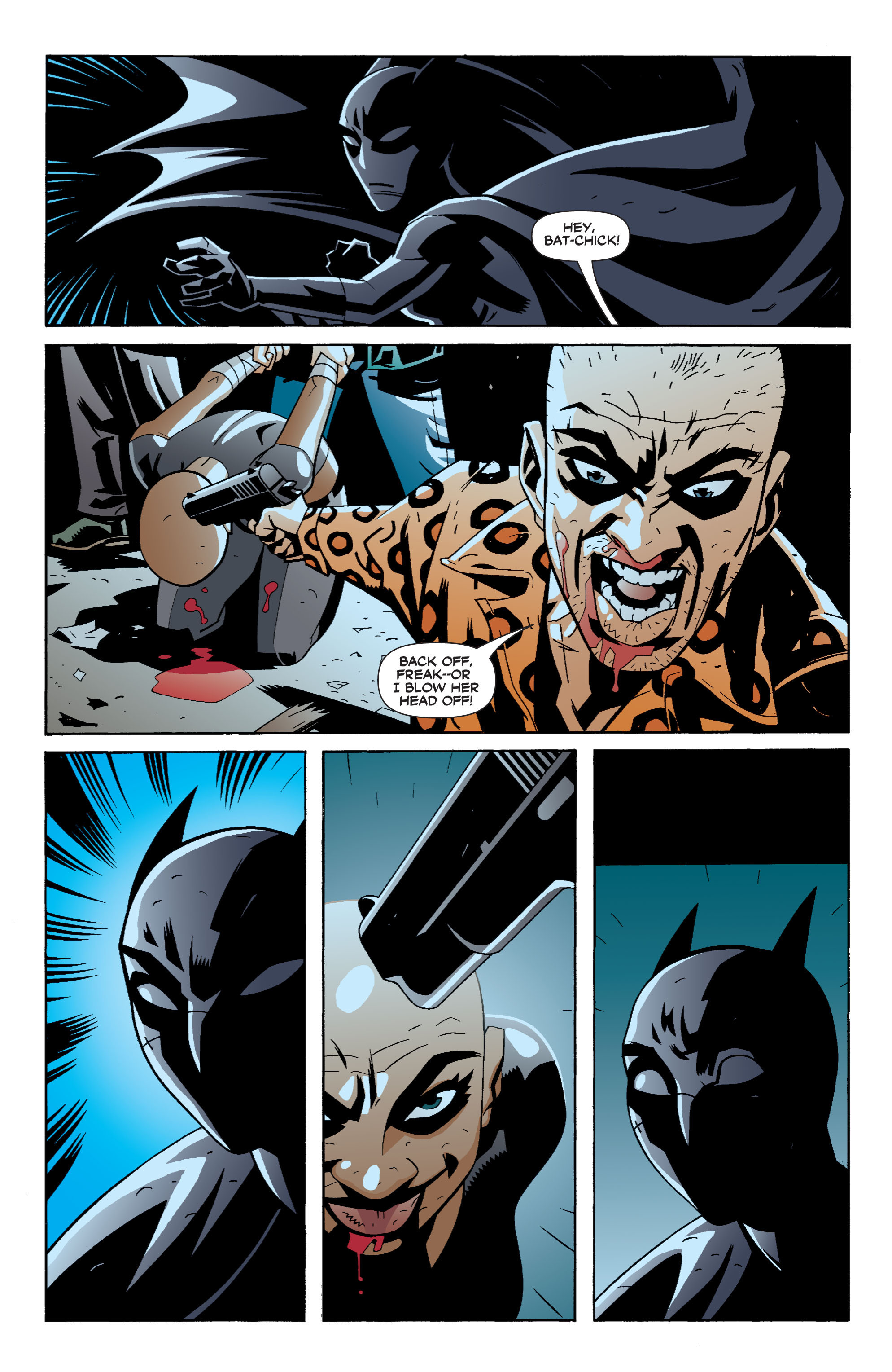 Read online Batman: War Games comic -  Issue #6 - 10