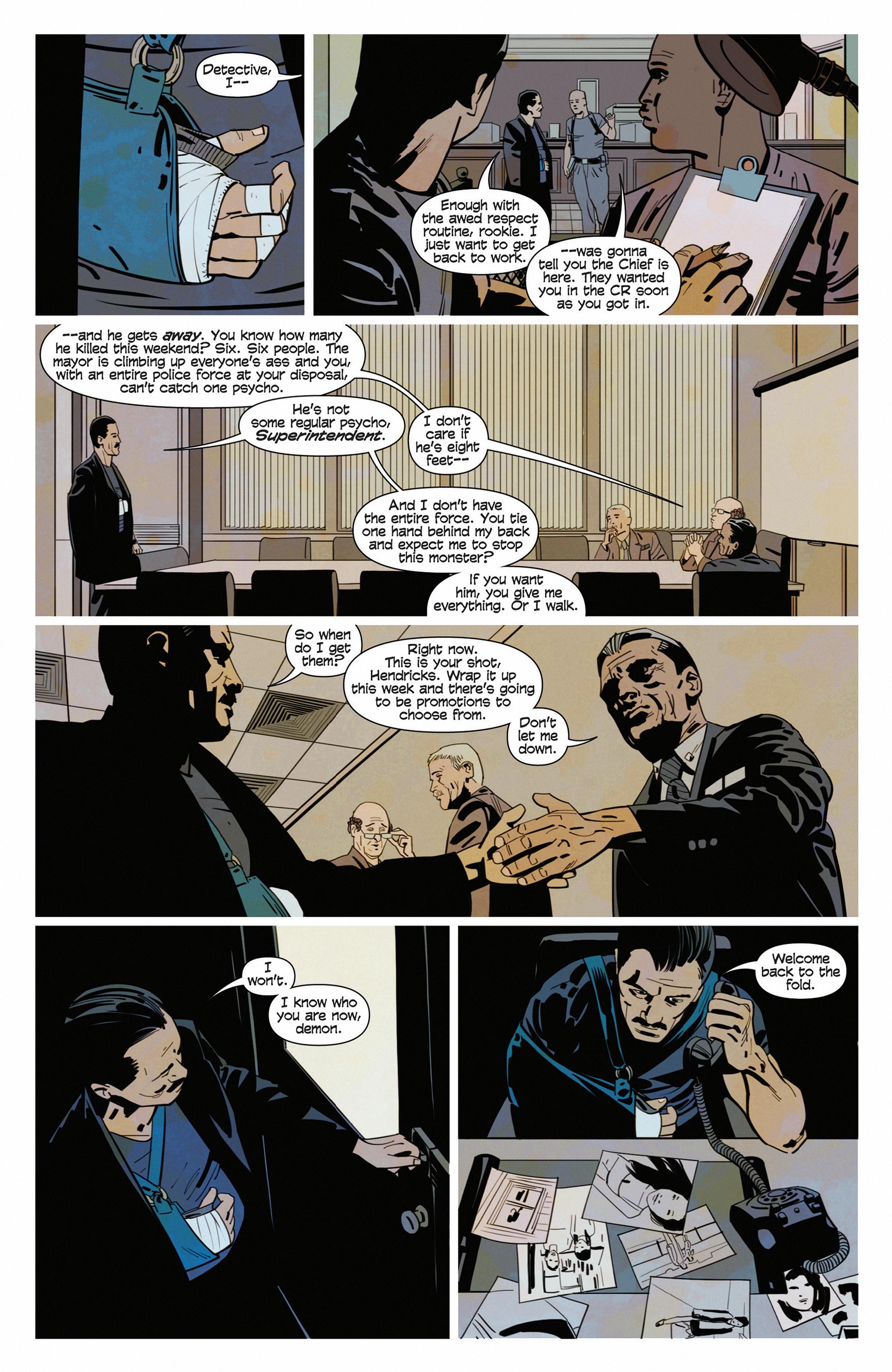 Read online Demonic comic -  Issue #5 - 12