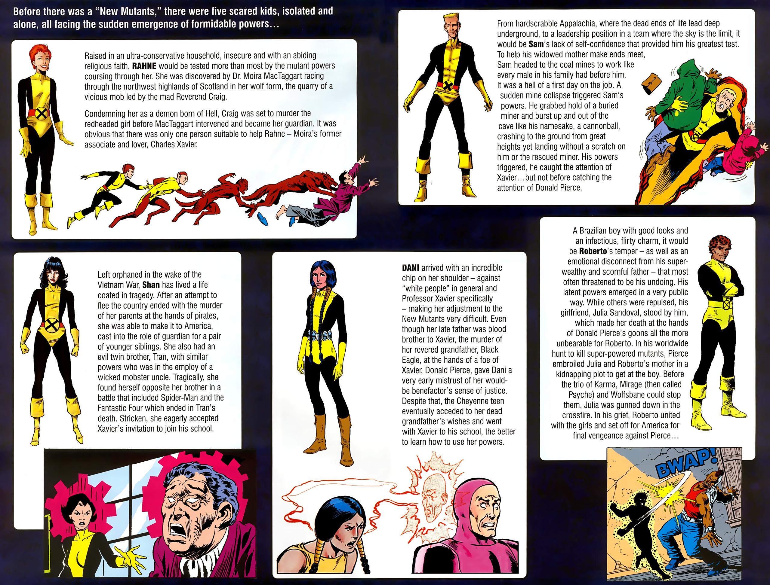 Read online New Mutants Saga comic -  Issue # Full - 4