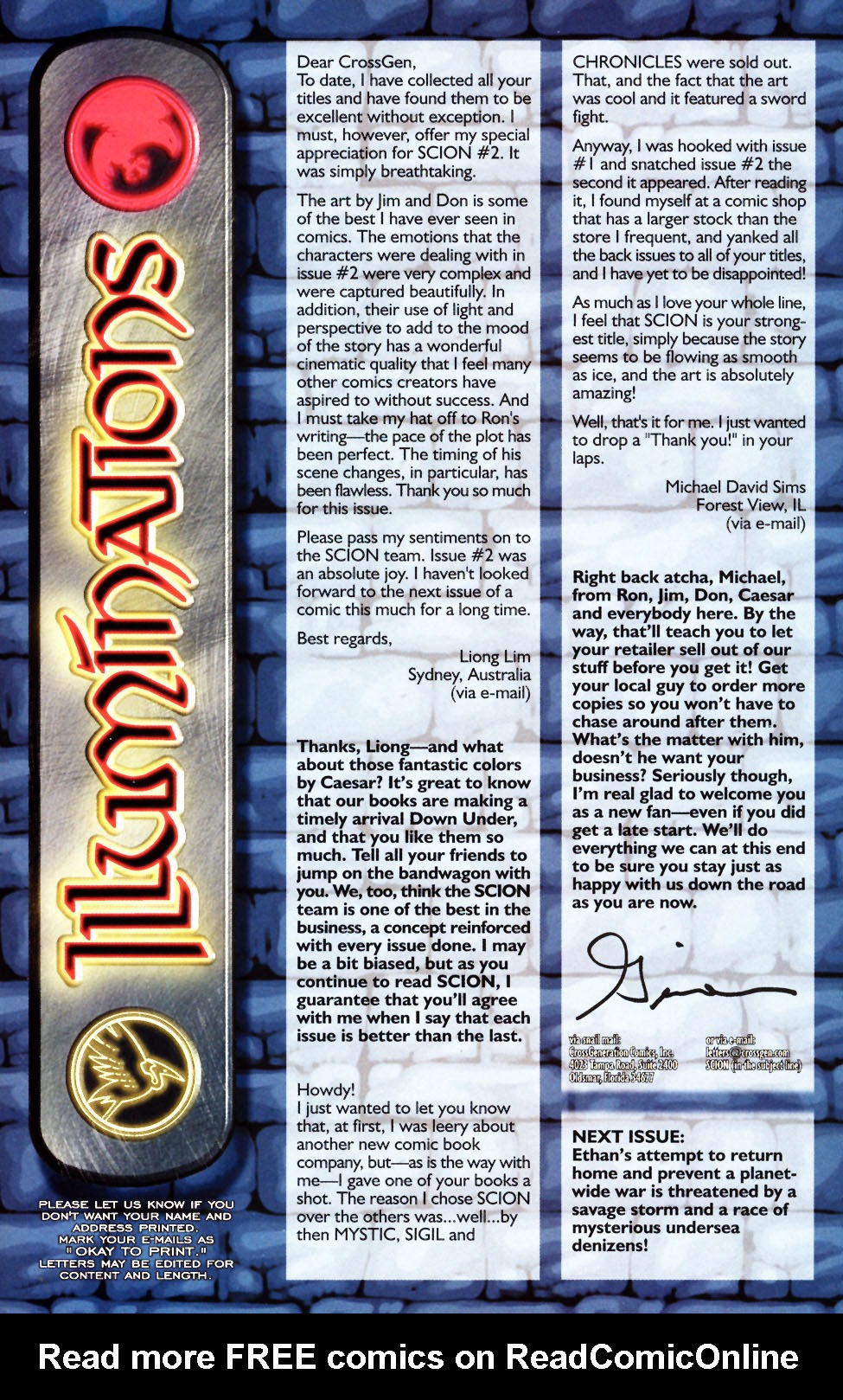 Read online Scion comic -  Issue #4 - 31
