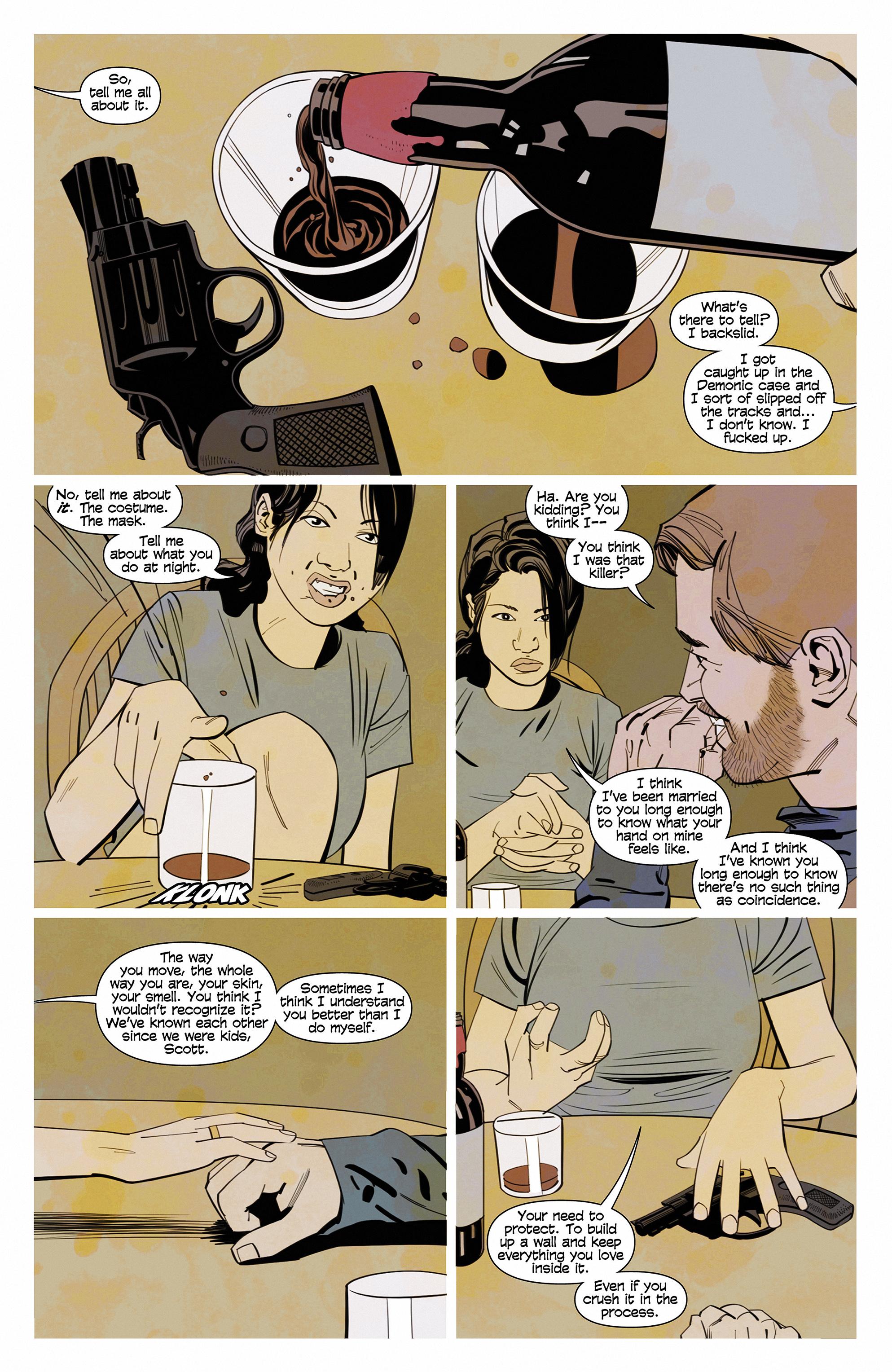 Read online Demonic comic -  Issue #6 - 22