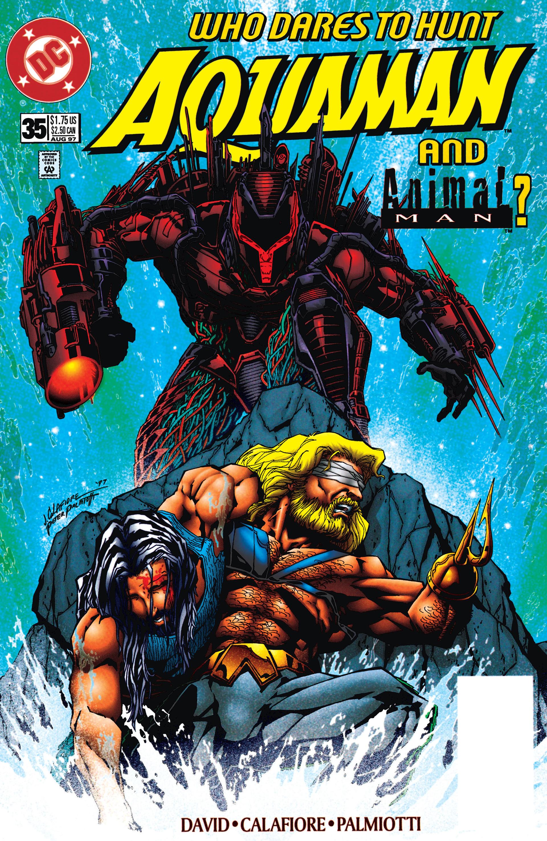 Aquaman (1994) 35 Page 1