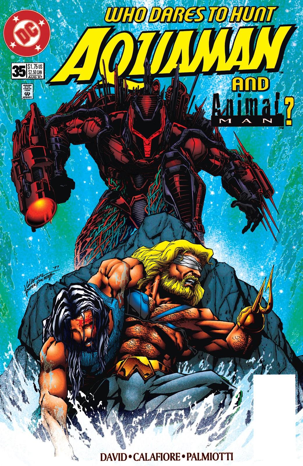 Aquaman (1994) Issue #35 #41 - English 1