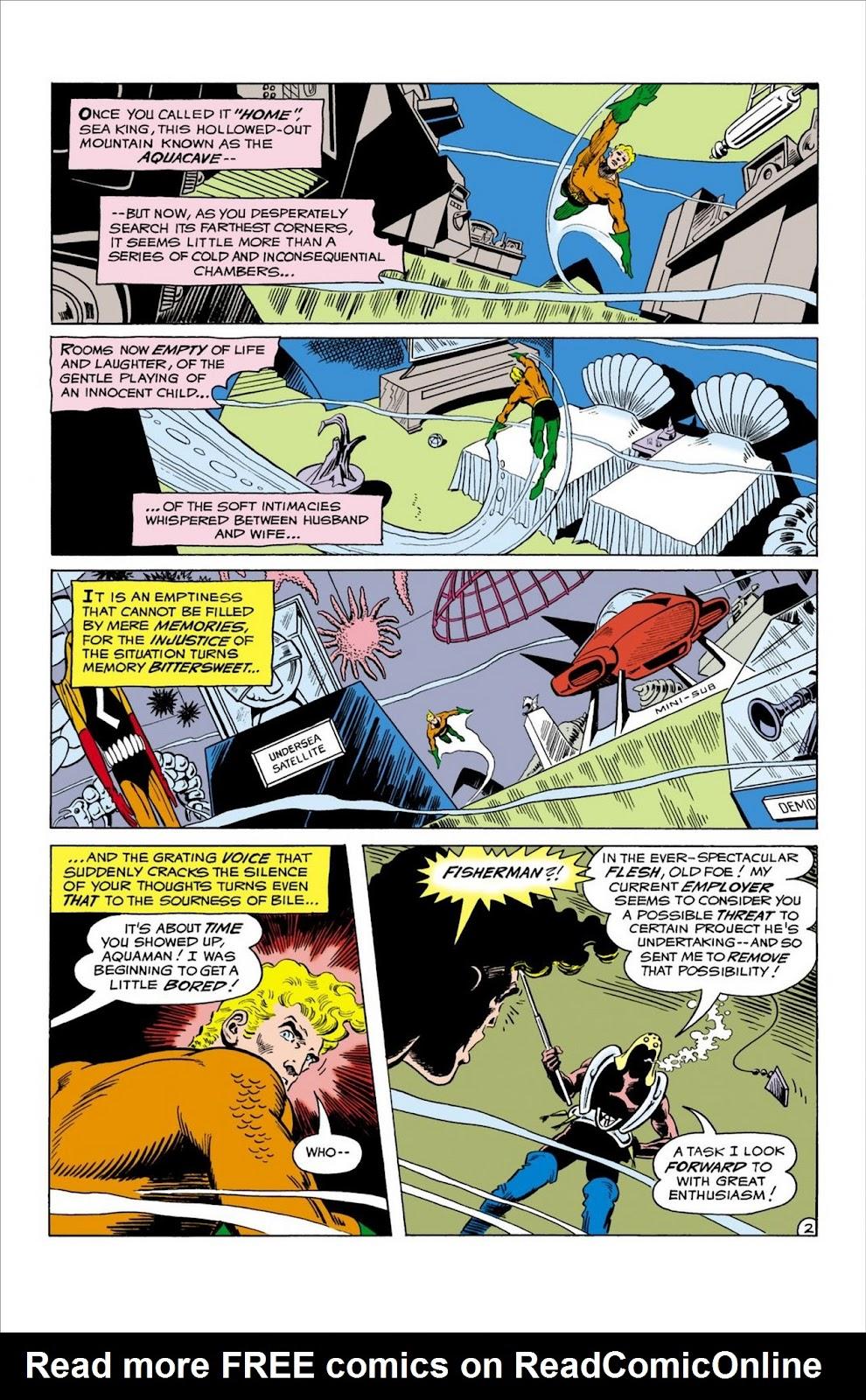 Aquaman (1962) Issue #58 #58 - English 3