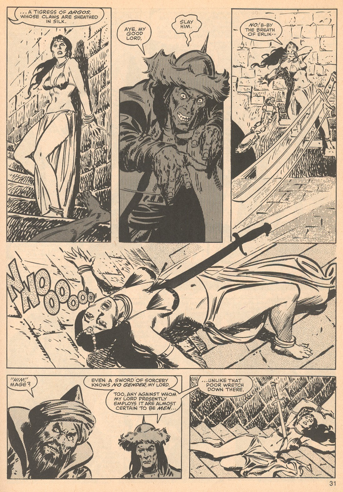 The Savage Sword Of Conan Issue #56 #57 - English 31