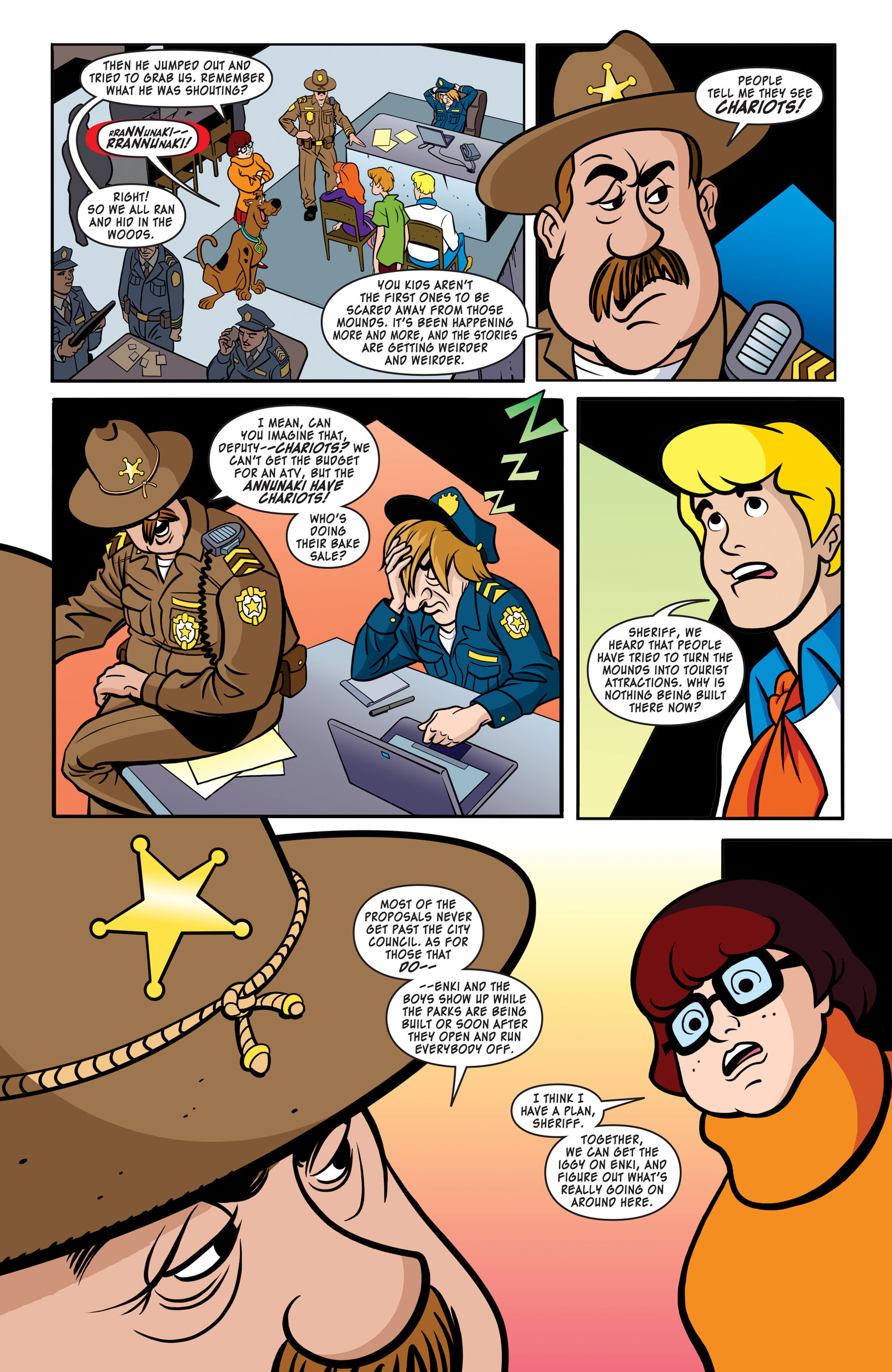 Read online Scooby-Doo: Where Are You? comic -  Issue #41 - 8