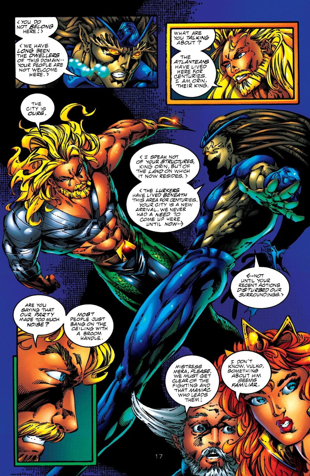 Aquaman (1994) Issue #50 #56 - English 16