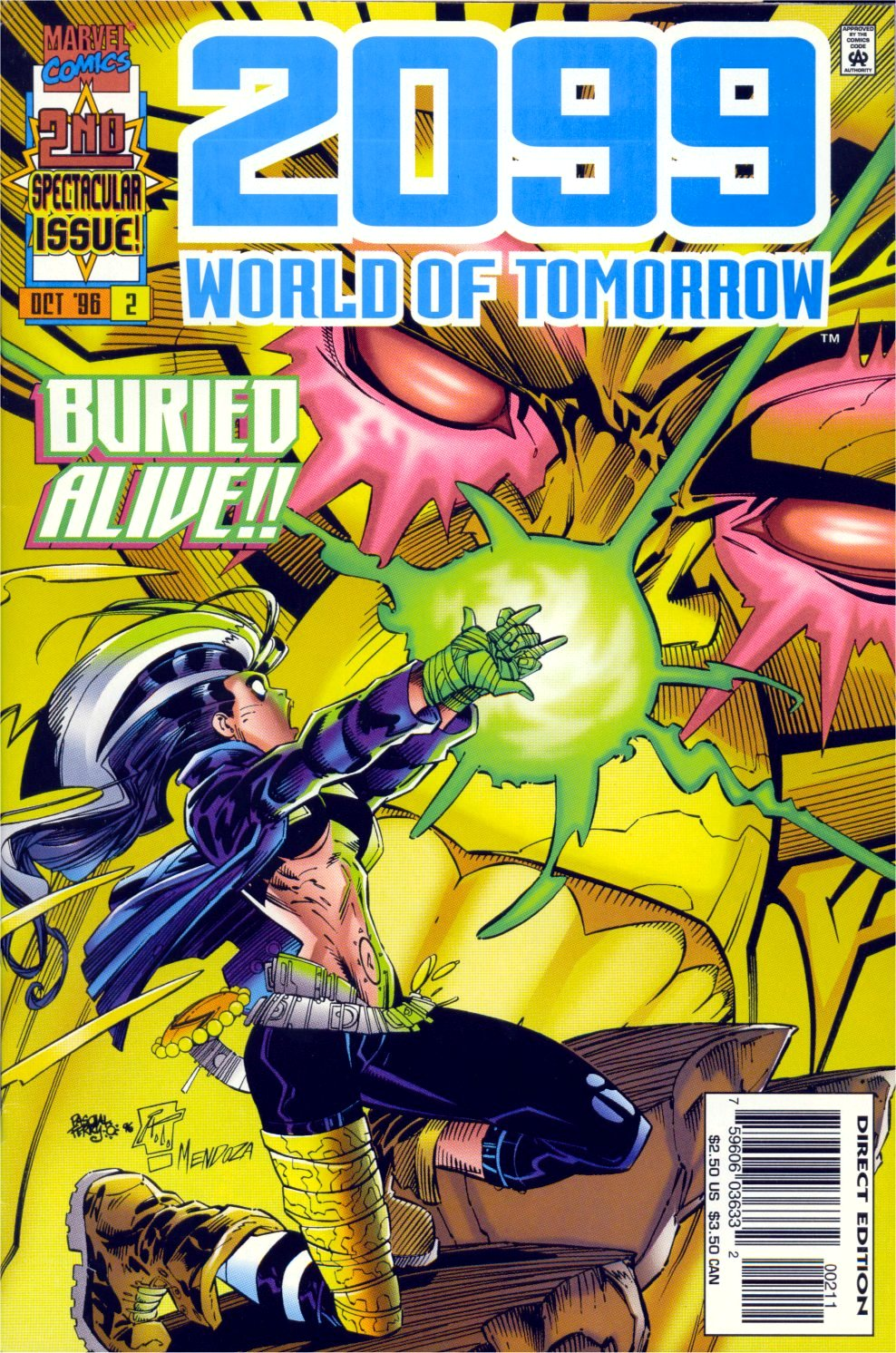 2099: World of Tomorrow 2 Page 1