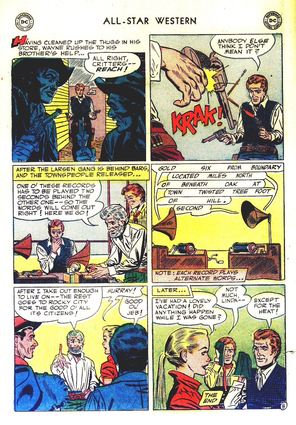 Read online All-Star Western (1951) comic -  Issue #66 - 10