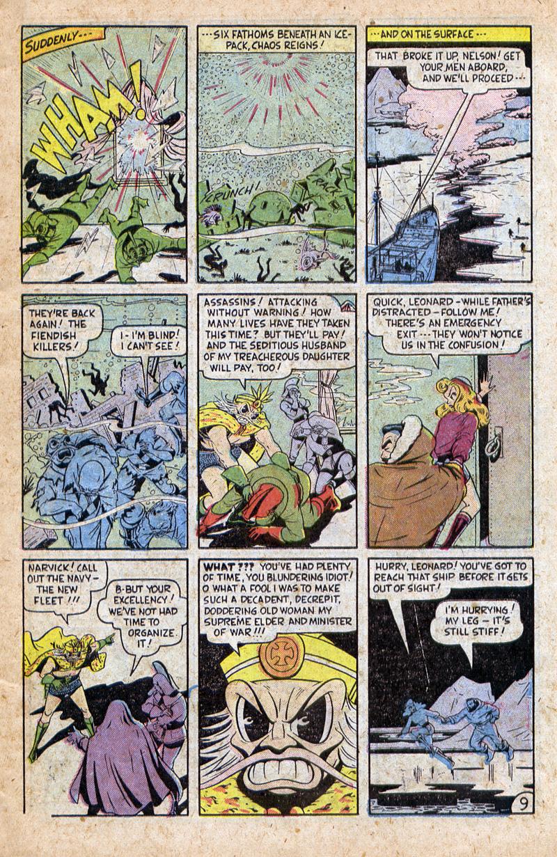 Sub-Mariner Comics #32 #32 - English 11