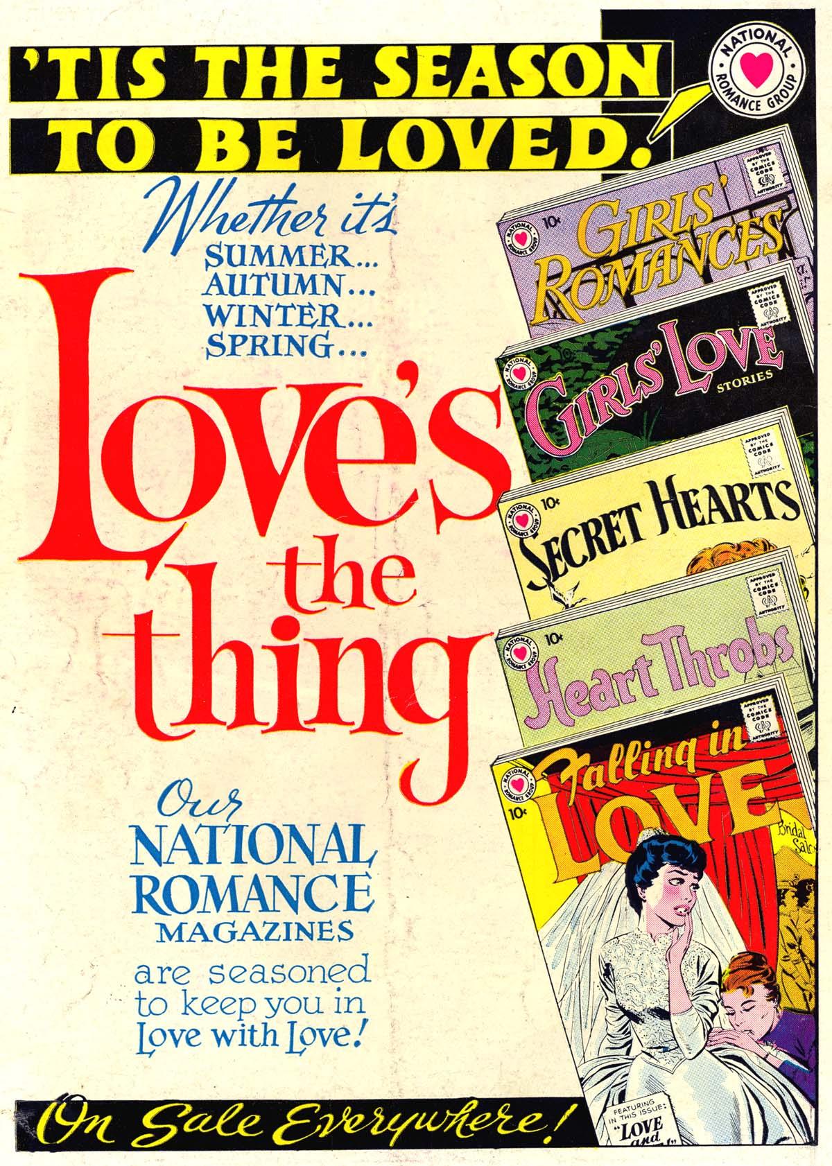 Read online Secret Hearts comic -  Issue #62 - 36