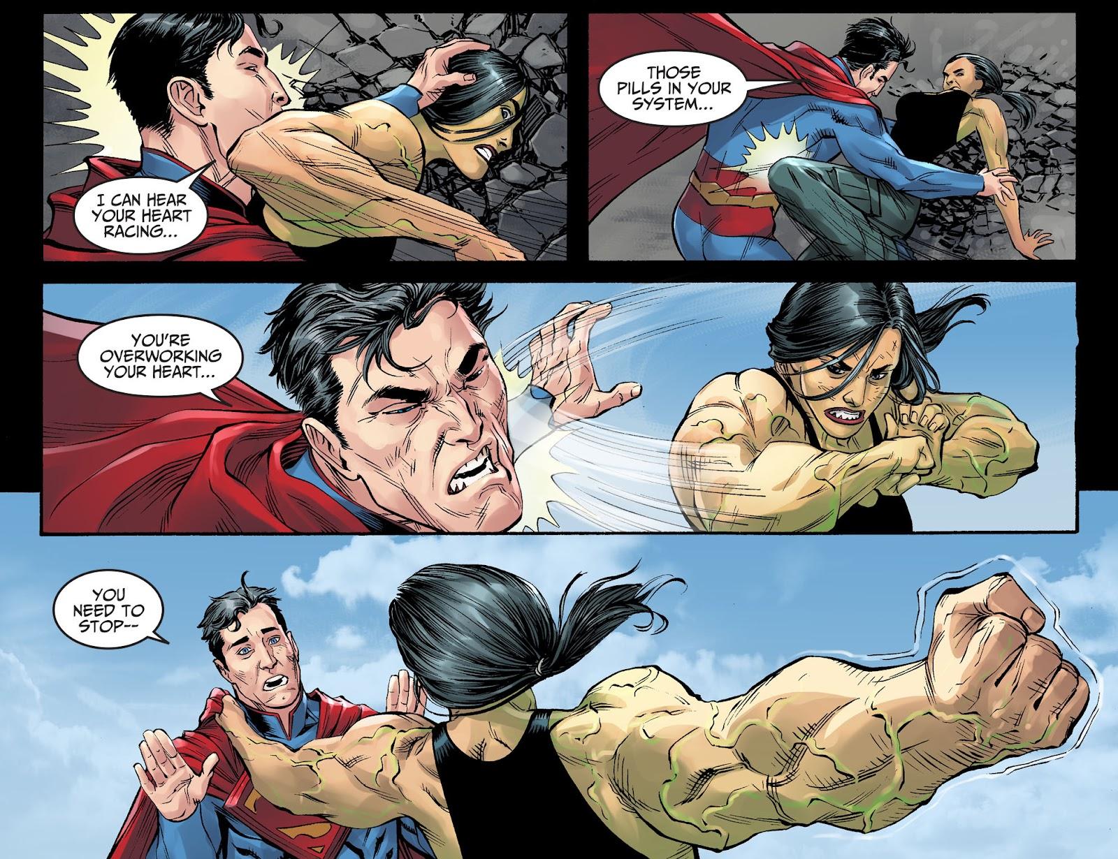 Injustice: Gods Among Us Year Four Issue #4 #5 - English 12