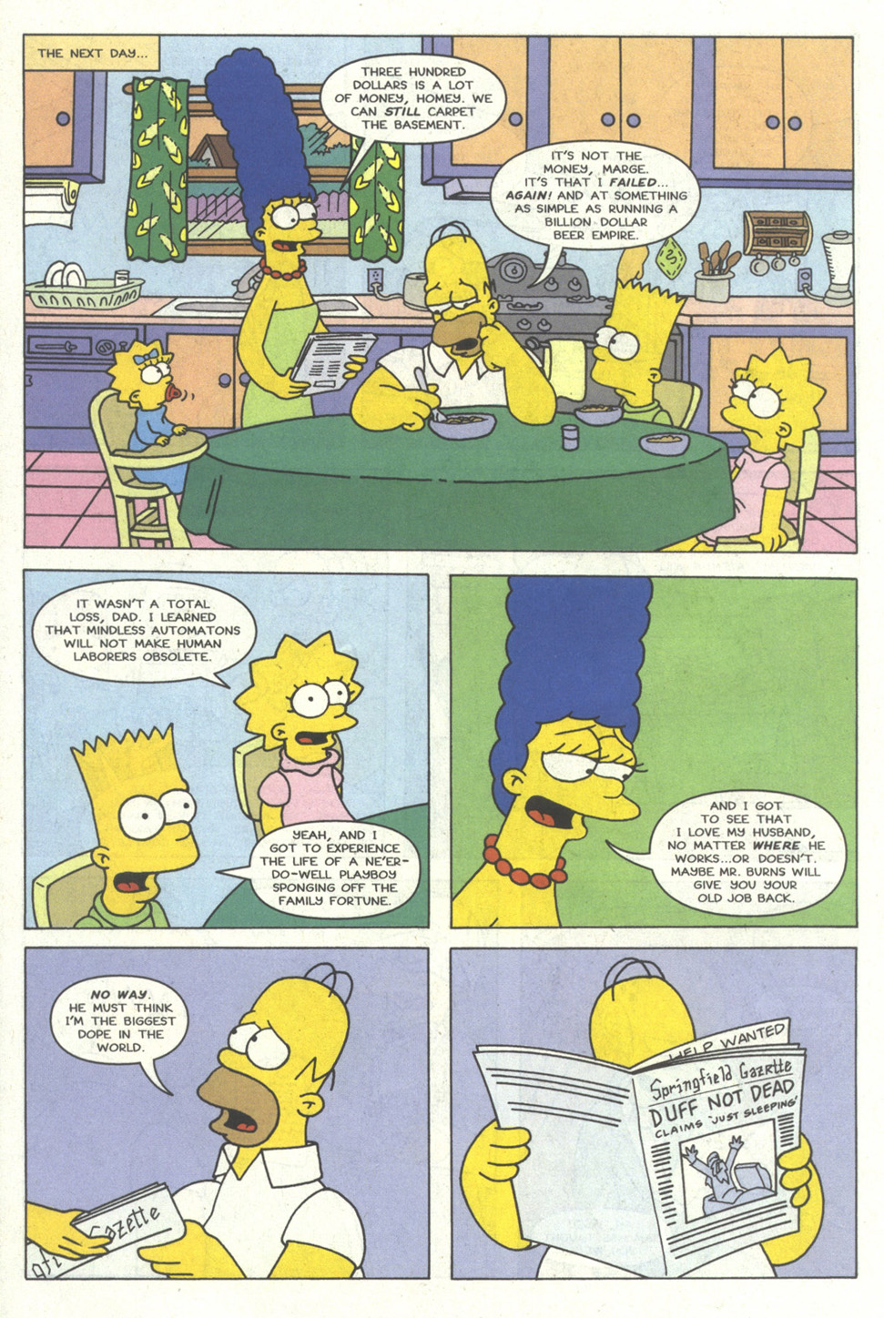 Read online Simpsons Comics comic -  Issue #14 - 21