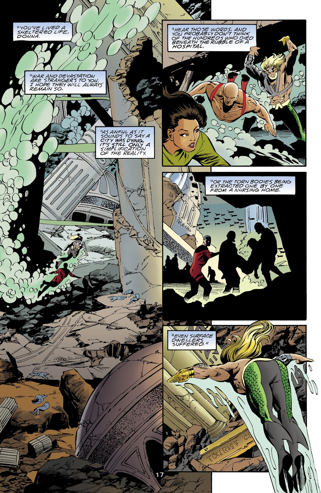 Aquaman (1994) Issue #64 #70 - English 16