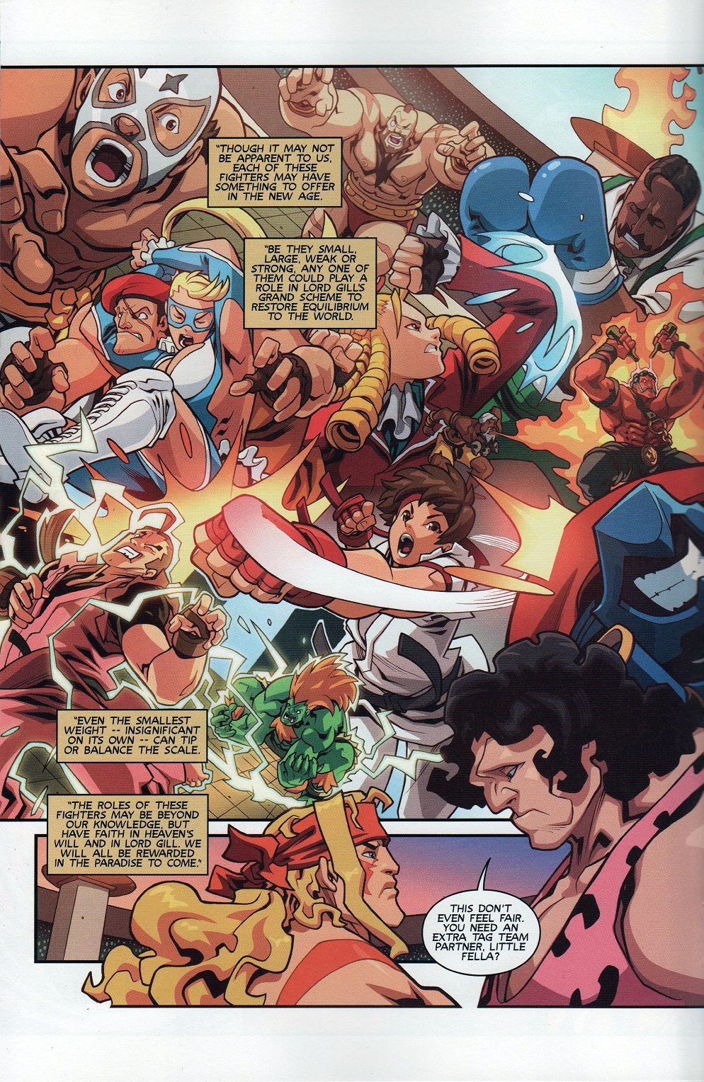Street Fighter Unlimited Issue #8 #10 - English 14