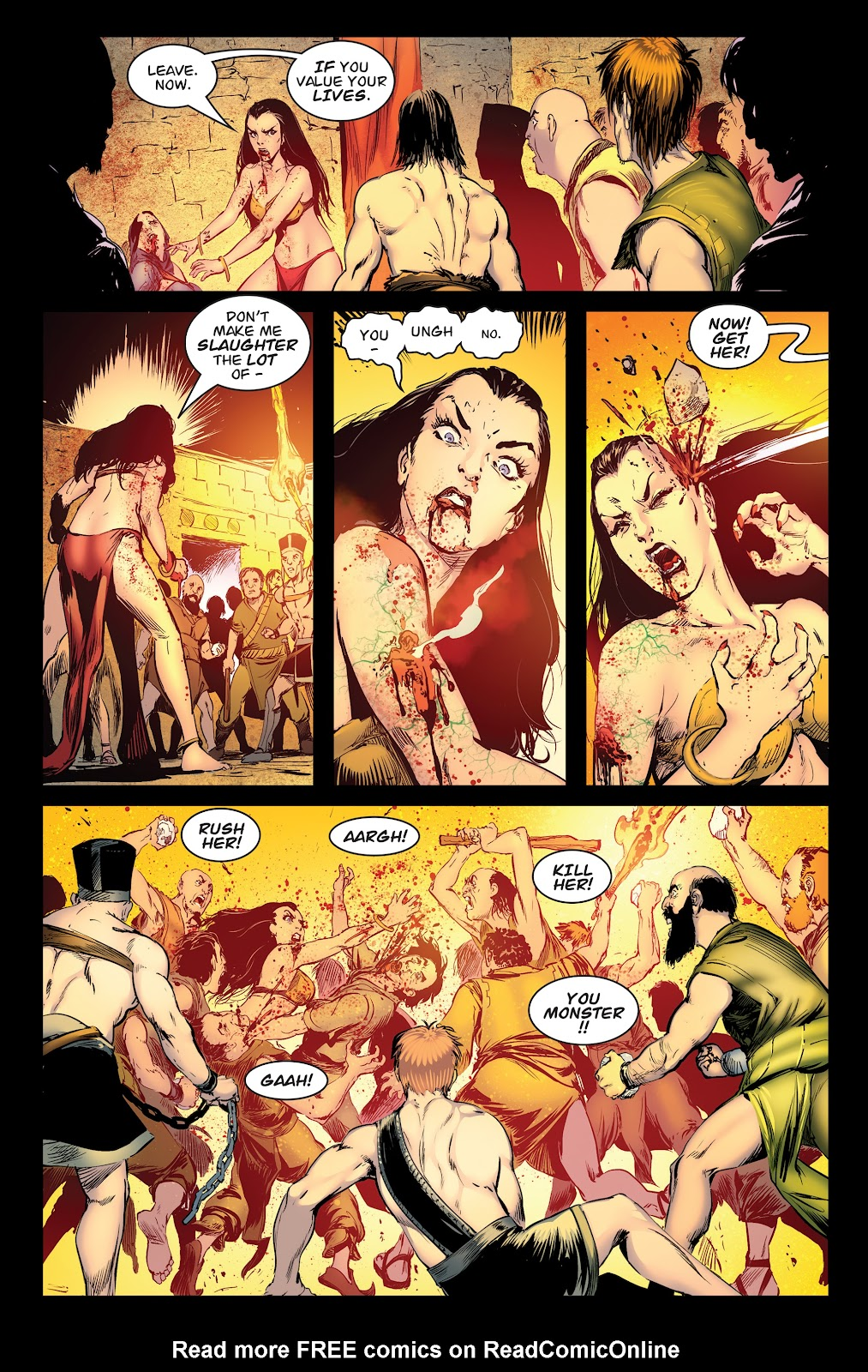 Queen of Vampires Issue #7 #7 - English 28