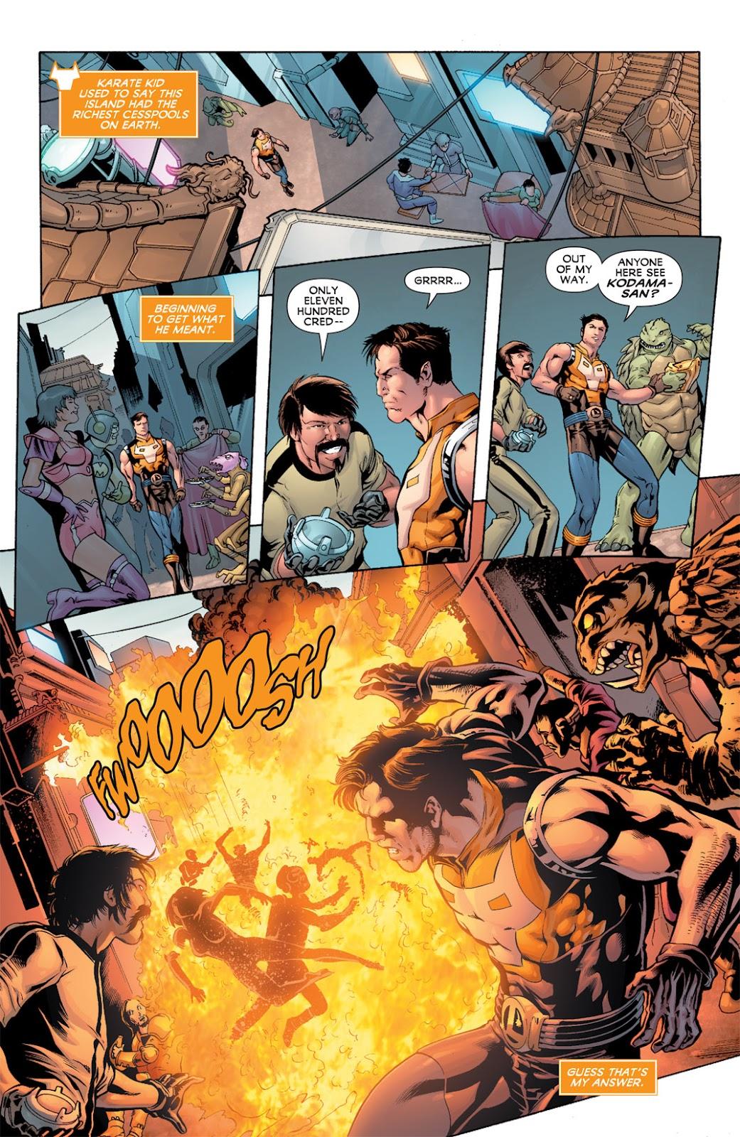 Legion of Super-Heroes (2010) Issue #11 #12 - English 13