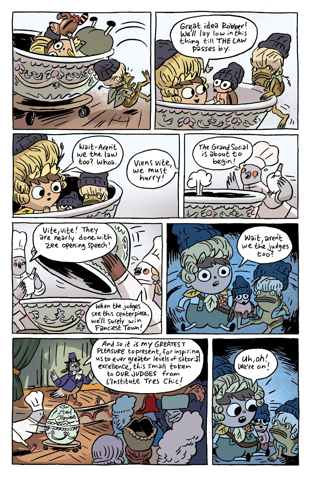 Over the Garden Wall (2016) Issue #7 #7 - English 11