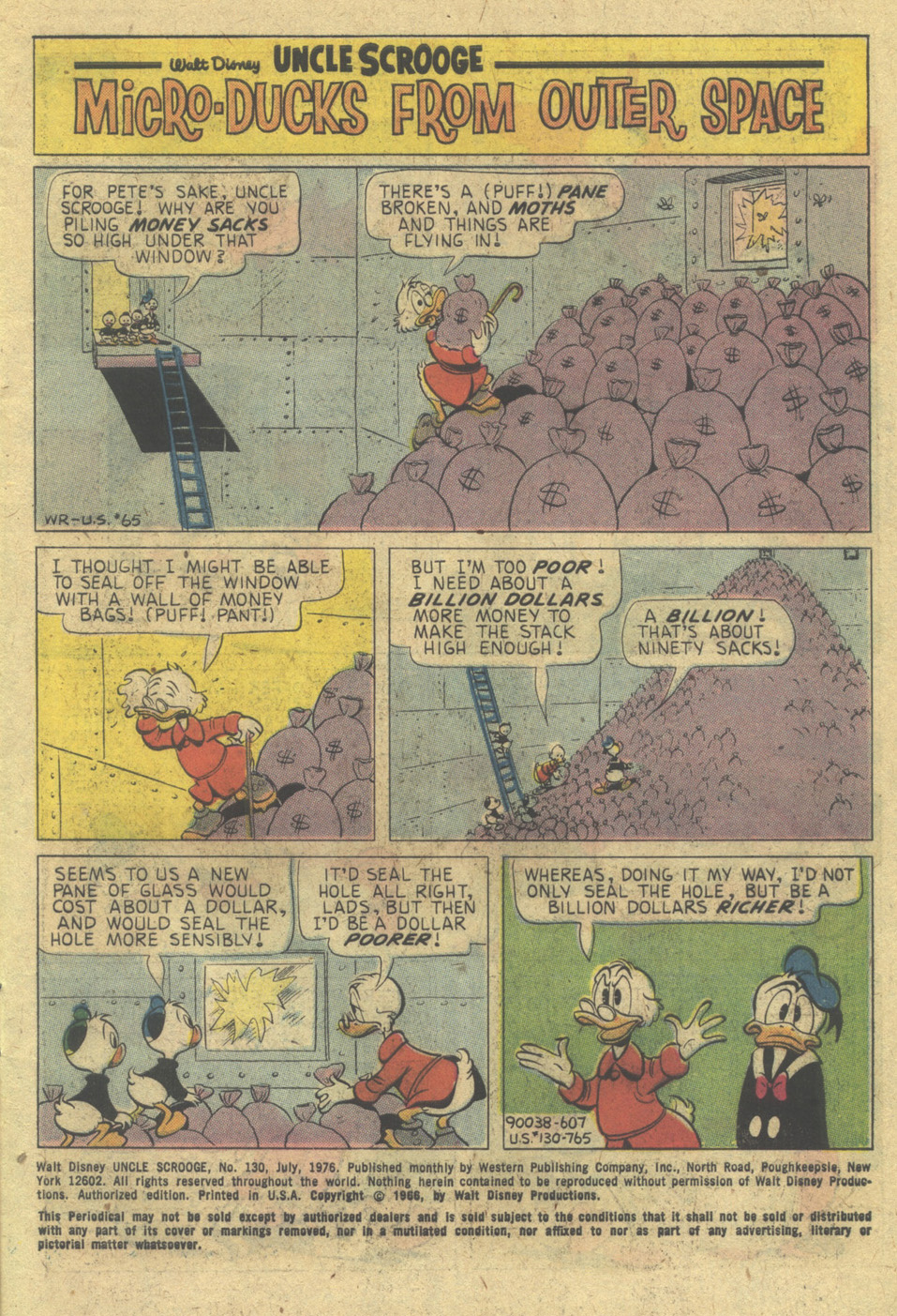 Uncle Scrooge (1953) Issue #130 #130 - English 3