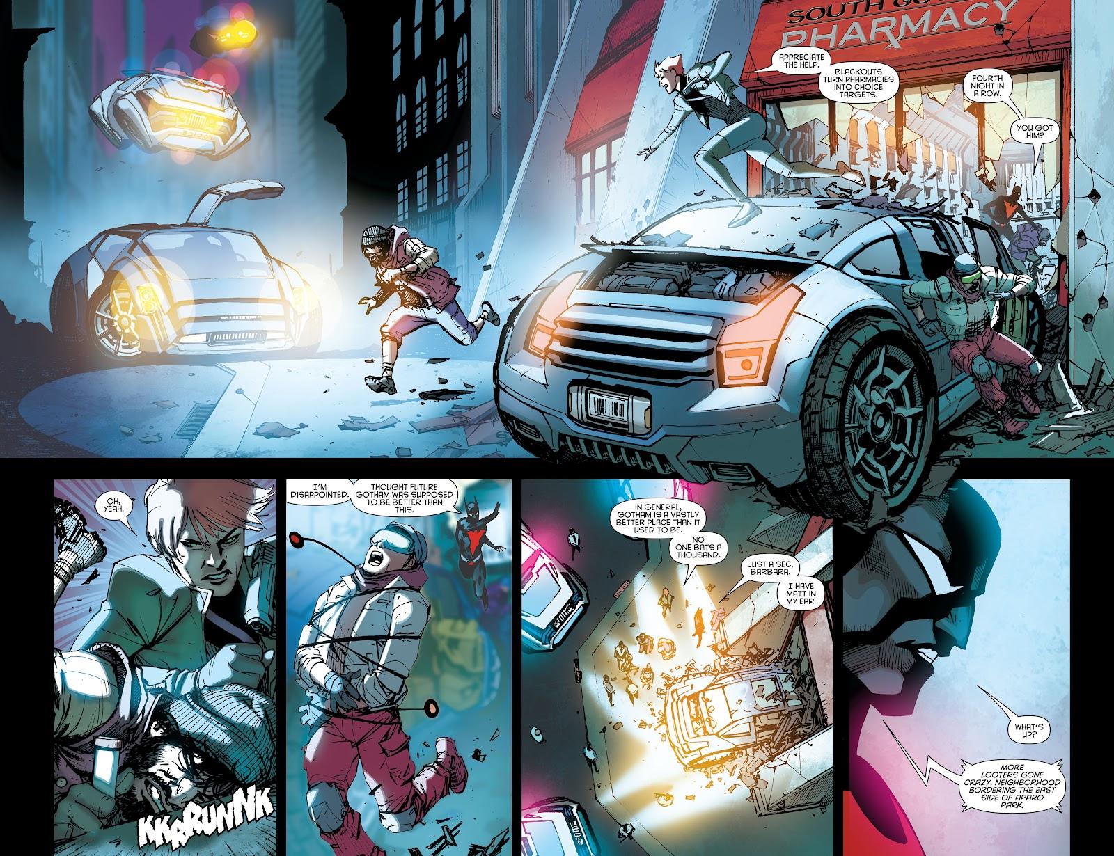 Batman Beyond (2015) Issue #15 #15 - English 4