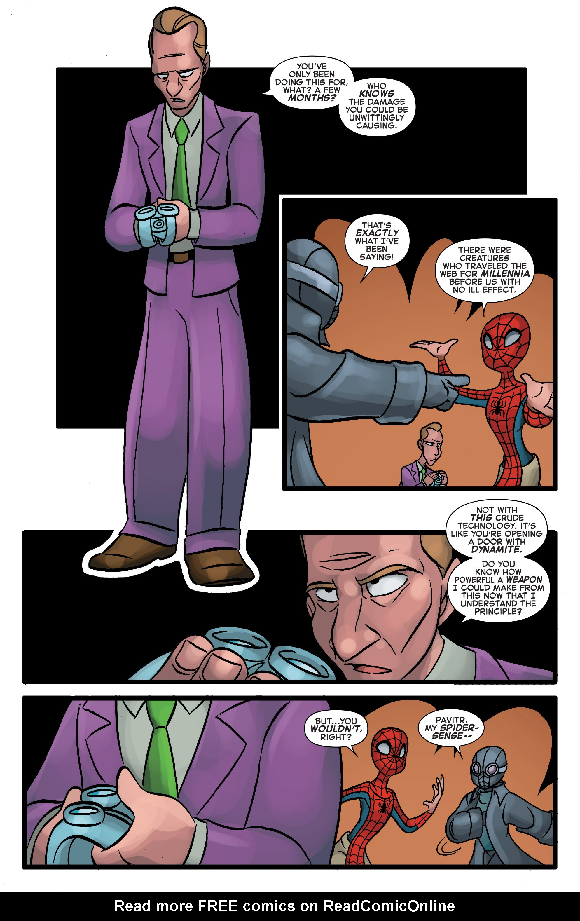 Read online Web Warriors comic -  Issue #10 - 12