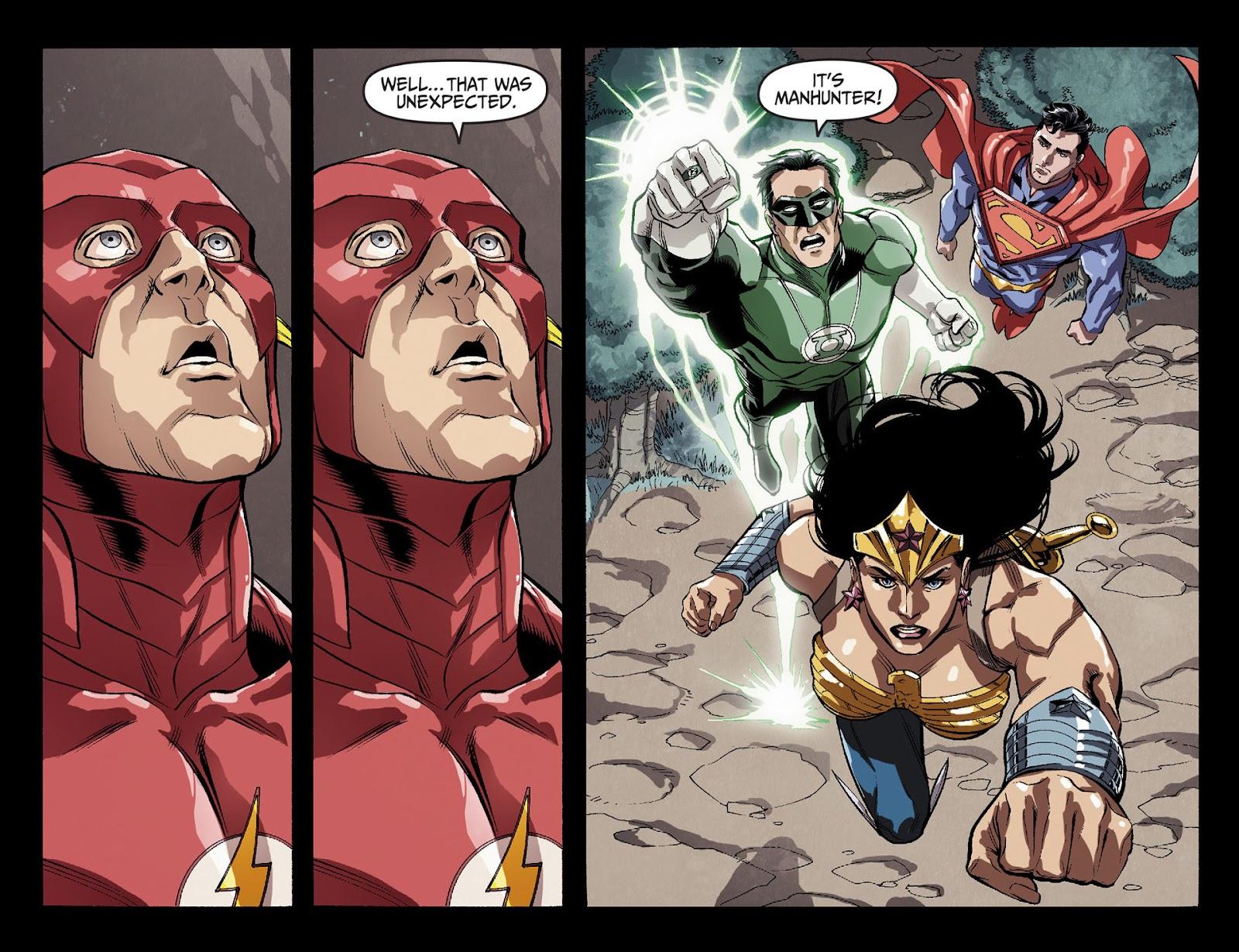 Injustice: Gods Among Us [I] Issue #29 #30 - English 12