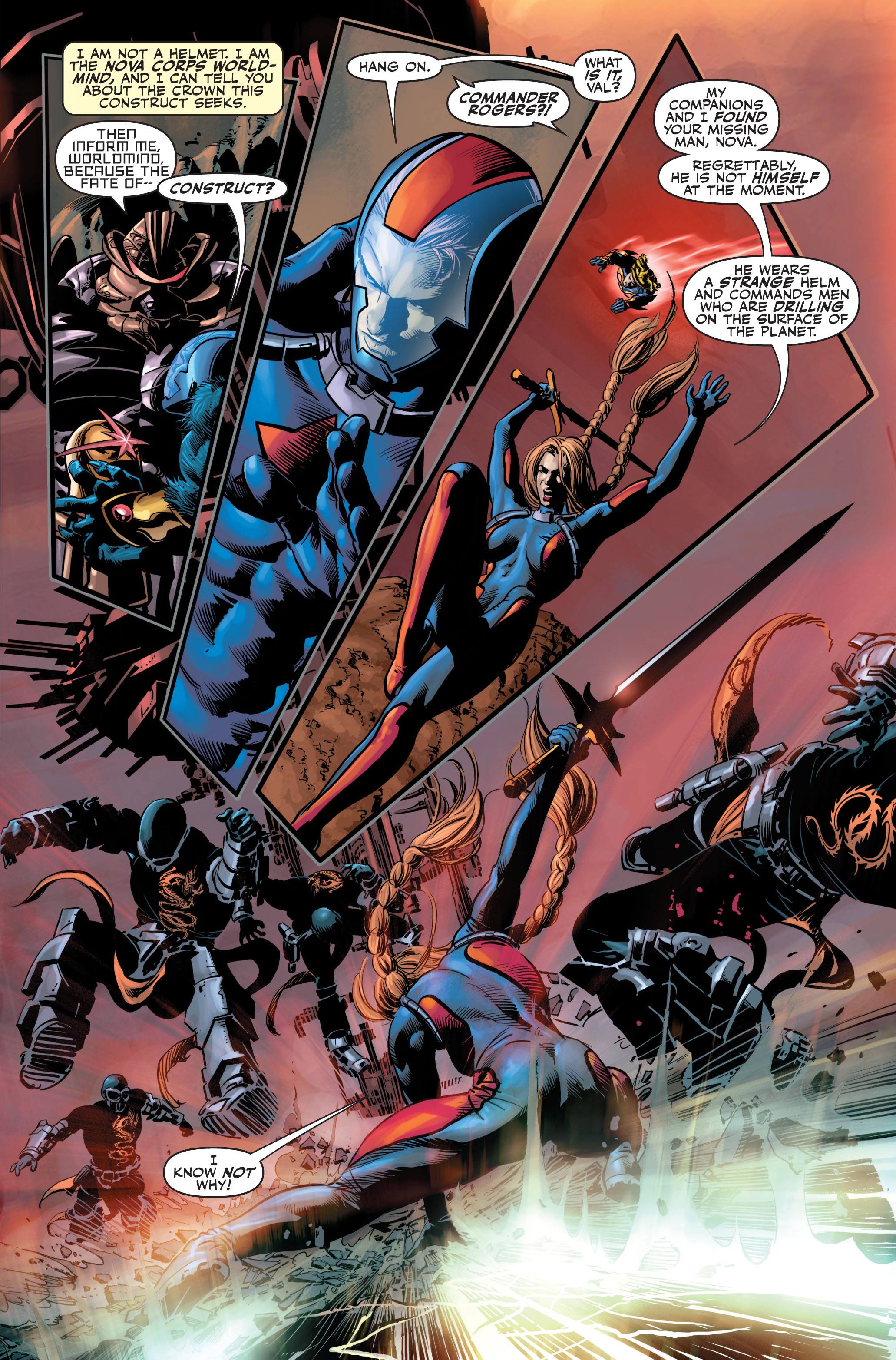 Read online Secret Avengers (2010) comic -  Issue #3 - 8