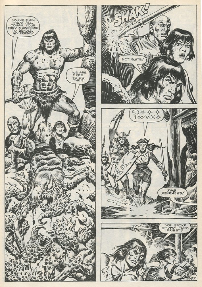 The Savage Sword Of Conan Issue #141 #142 - English 53