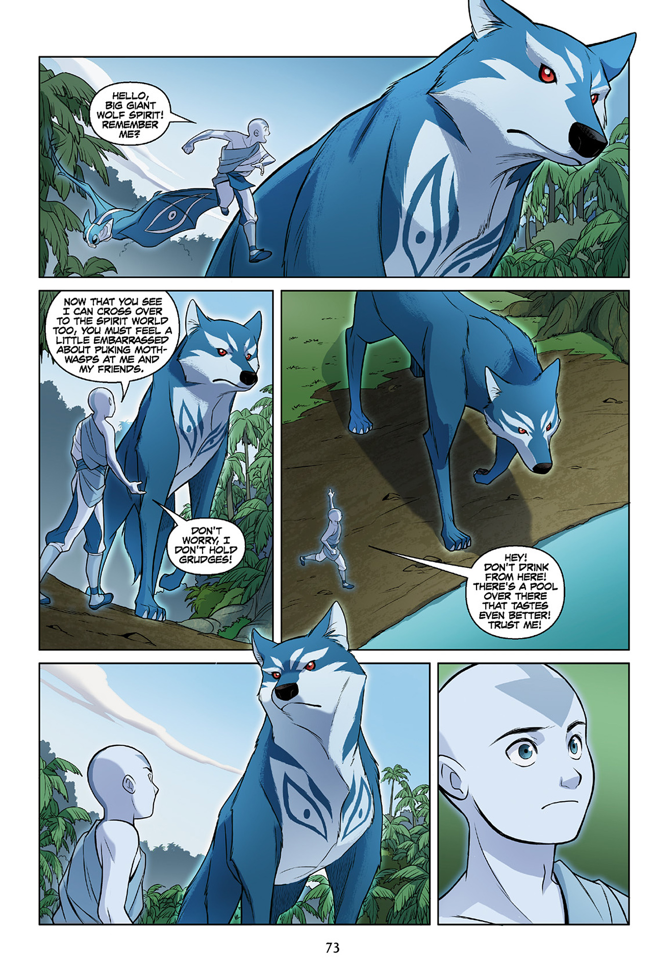 Read online Nickelodeon Avatar: The Last Airbender - The Search comic -  Issue # Part 2 - 74