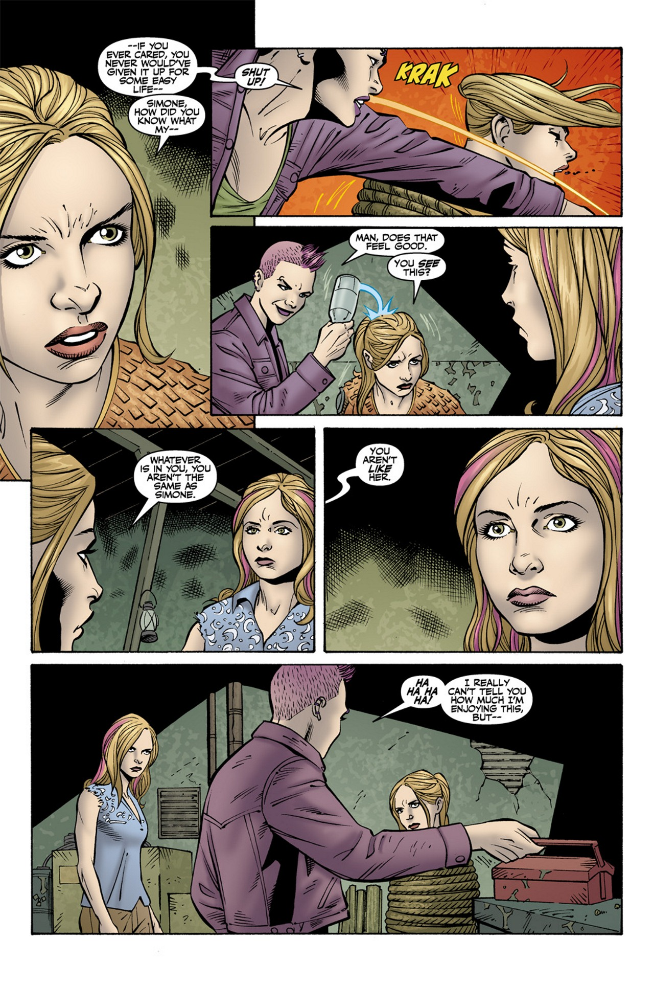 Read online Buffy the Vampire Slayer Season Nine comic -  Issue #10 - 7