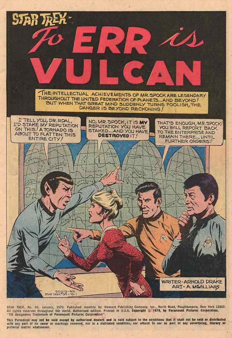 Star Trek (1967) #59 #59 - English 2