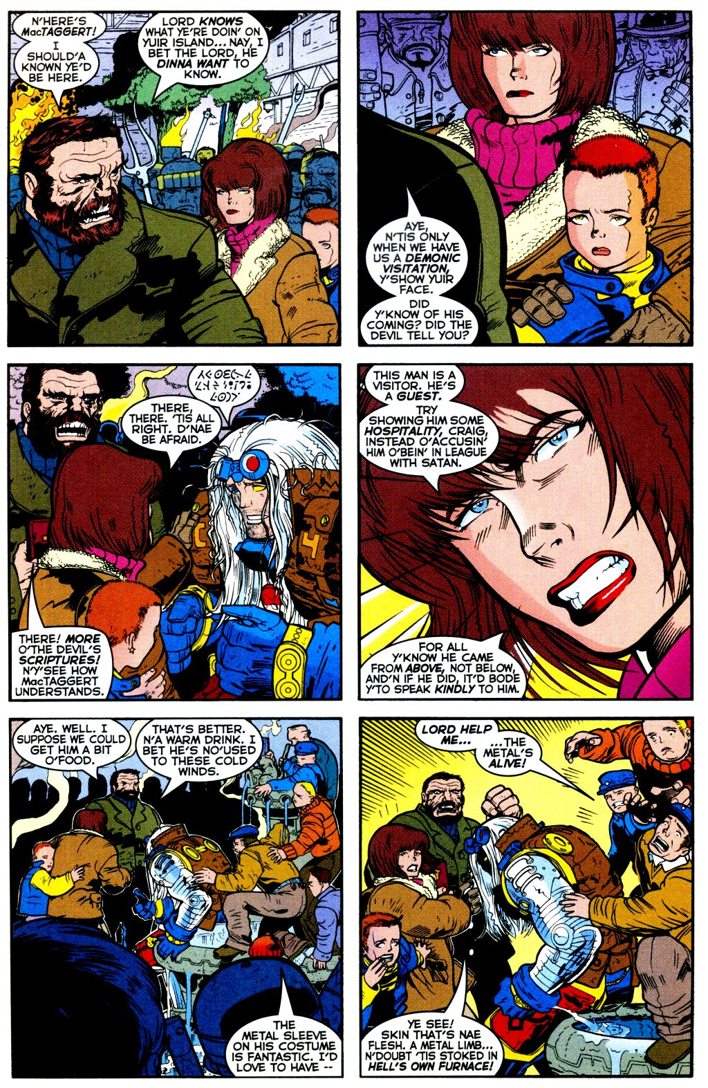 Cable (1993) #-1 #109 - English 8