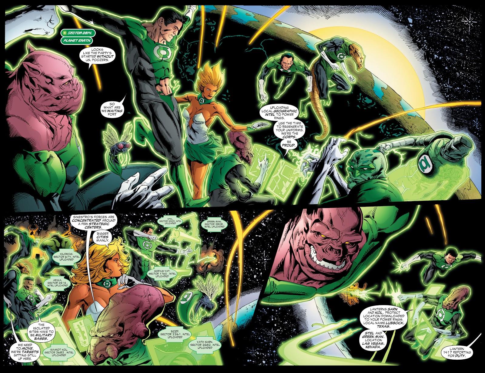 Green Lantern: The Sinestro Corps War Full #1 - English 203