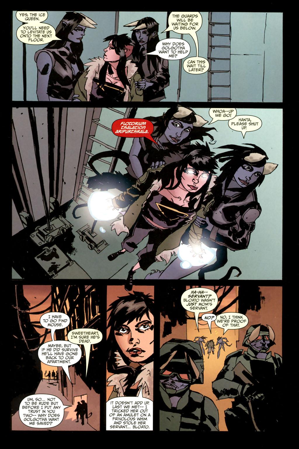 Strange Girl Issue #10 #11 - English 22