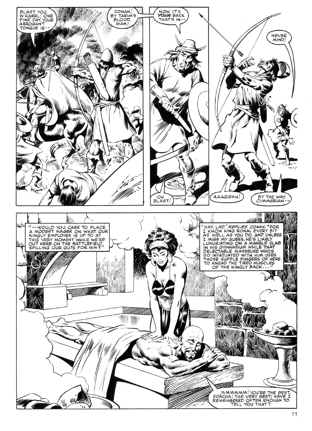 The Savage Sword Of Conan Issue #91 #92 - English 10