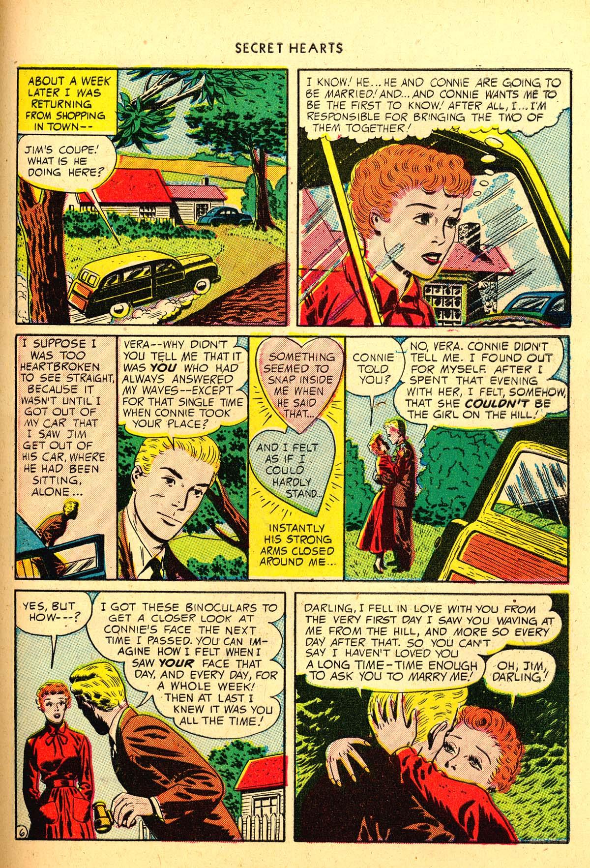 Read online Secret Hearts comic -  Issue #4 - 45
