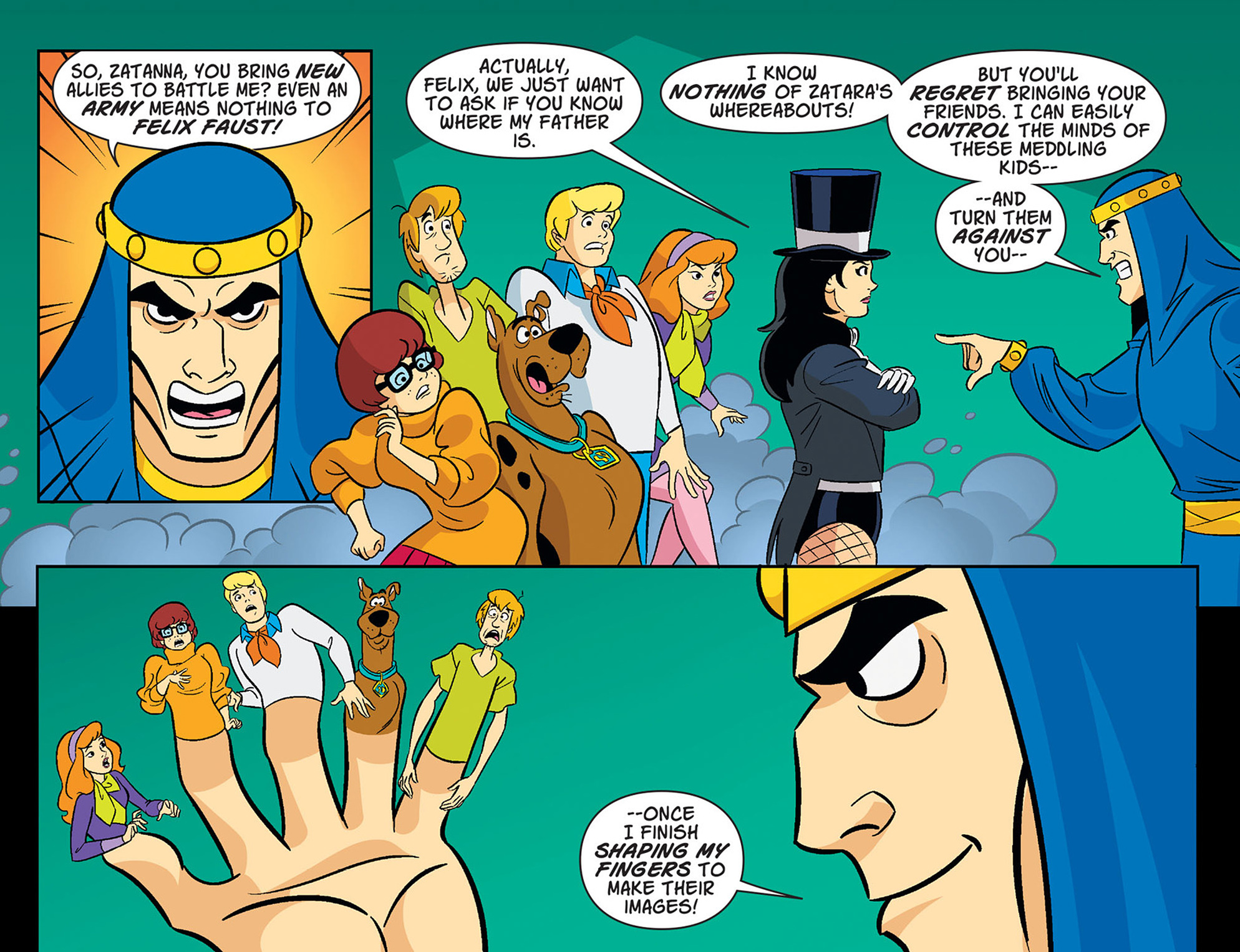 Read online Scooby-Doo! Team-Up comic -  Issue #37 - 18