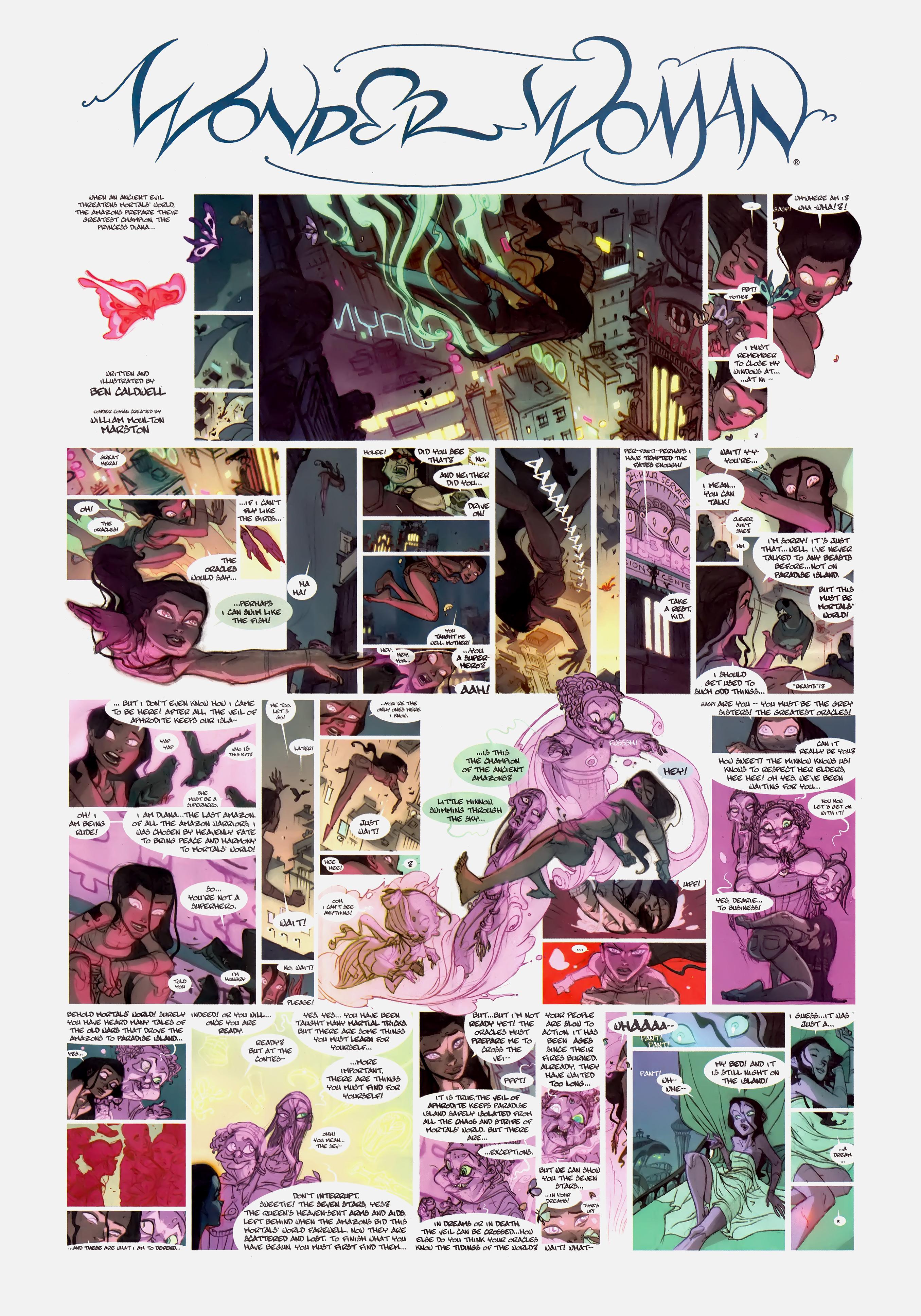 Read online Wednesday Comics comic -  Issue #1 - 13