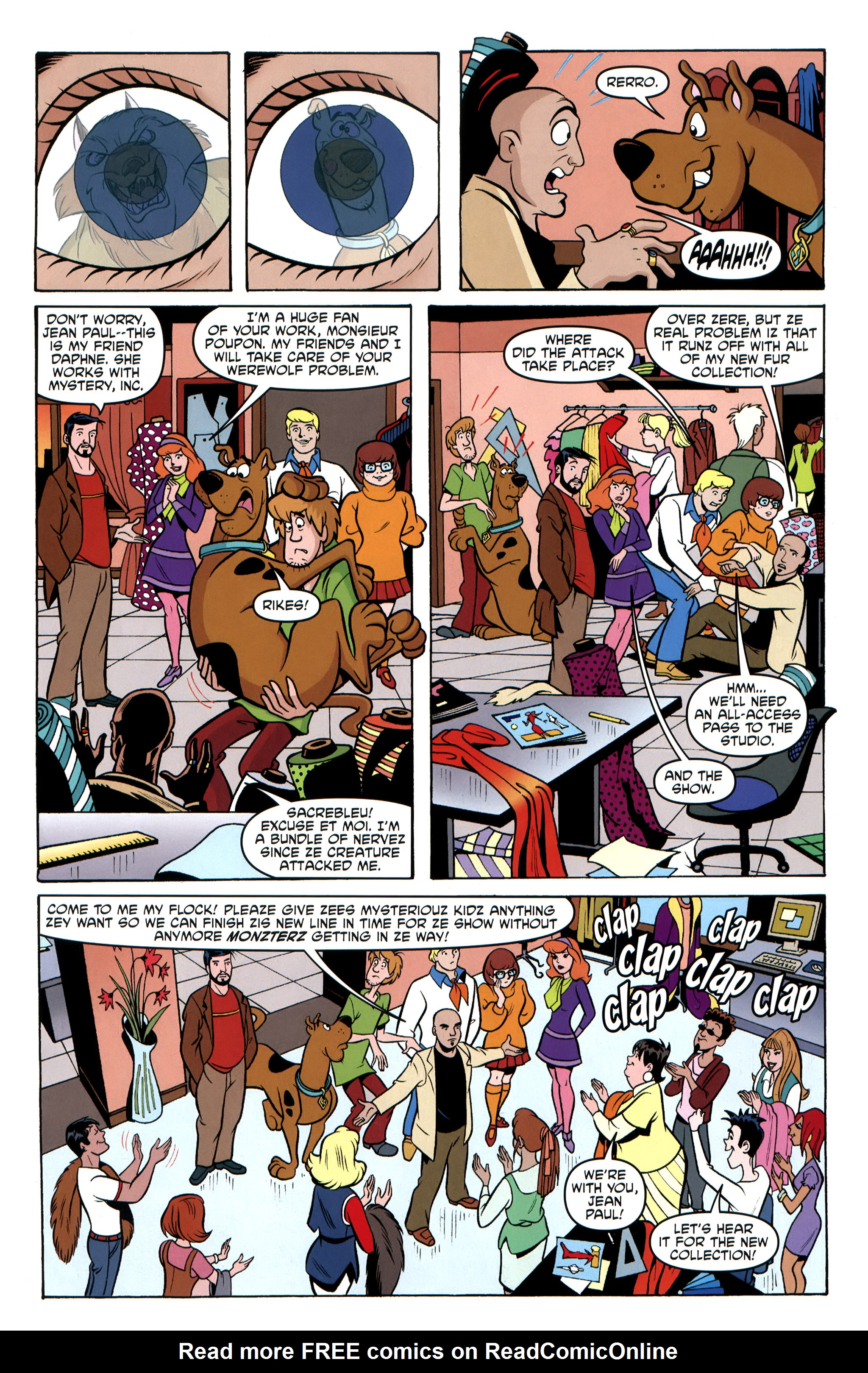 Read online Scooby-Doo: Where Are You? comic -  Issue #31 - 17
