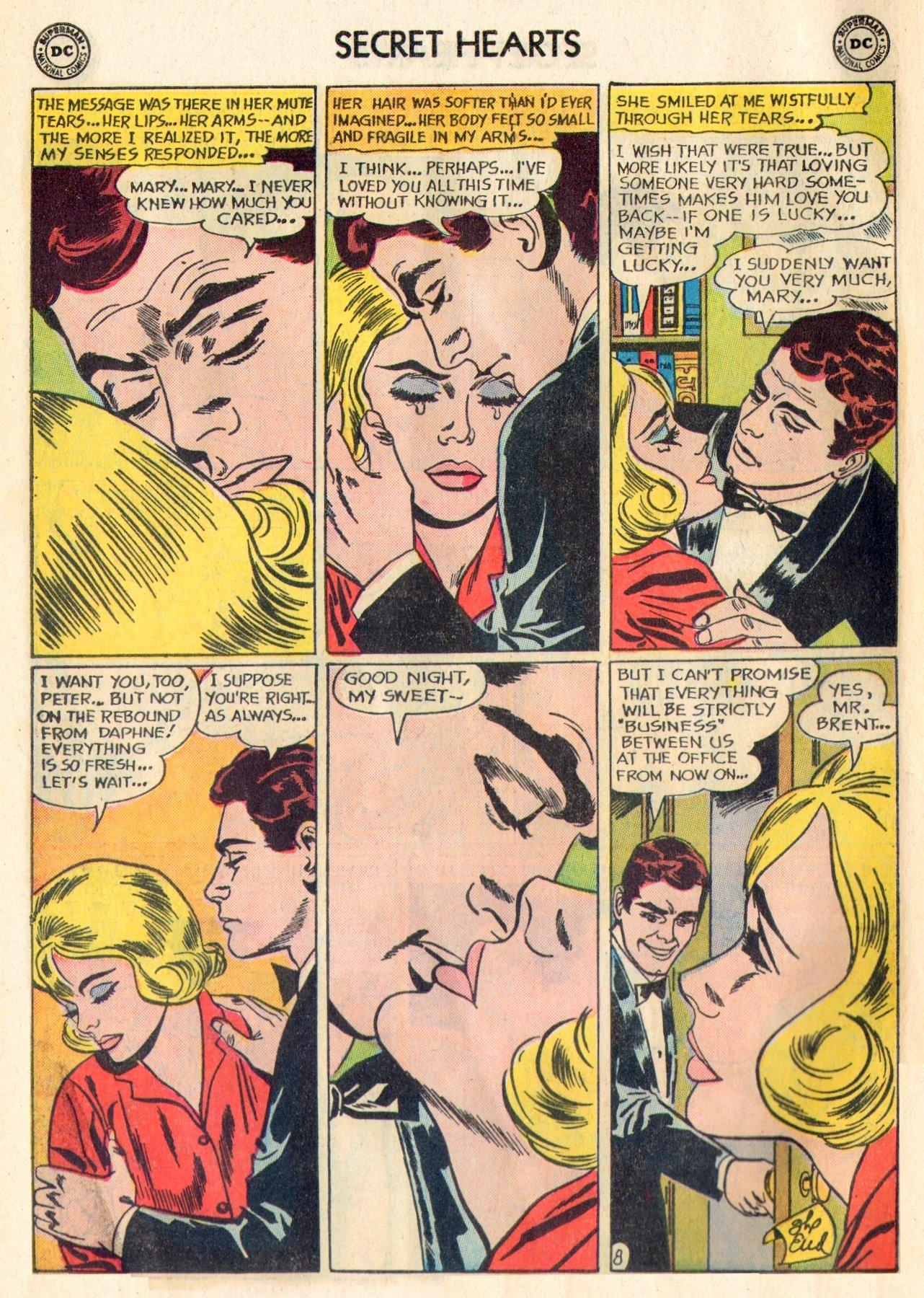 Read online Secret Hearts comic -  Issue #84 - 10