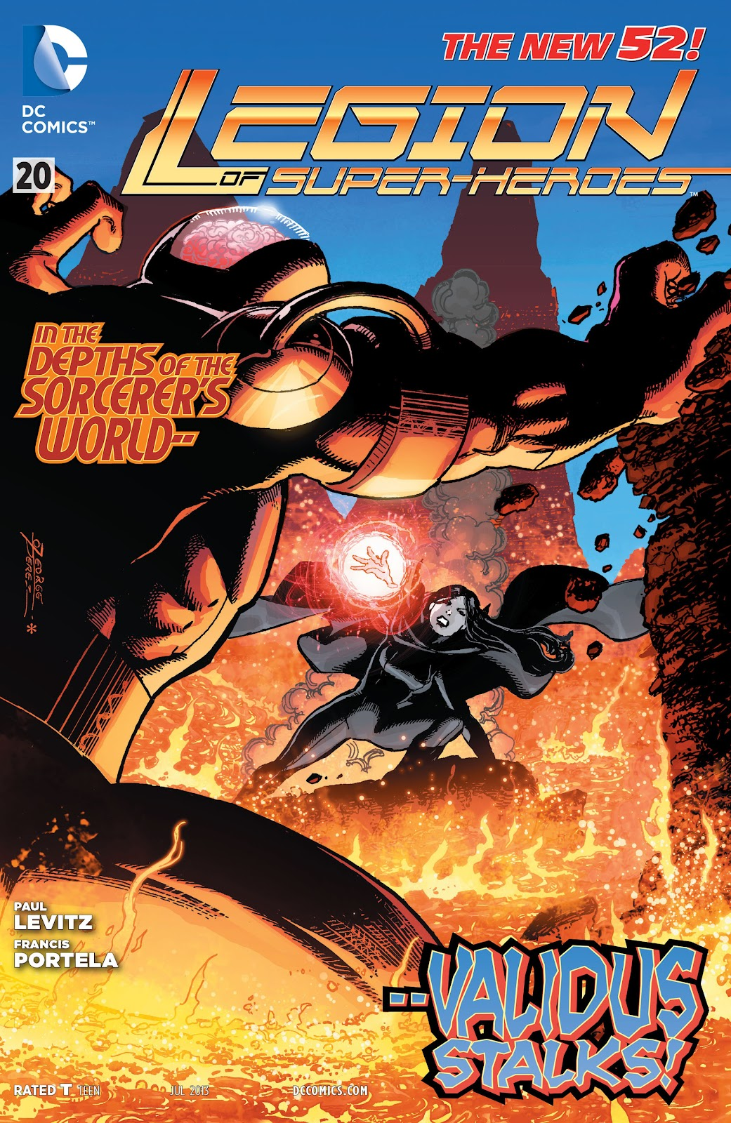 Legion of Super-Heroes (2011) Issue #20 #21 - English 1