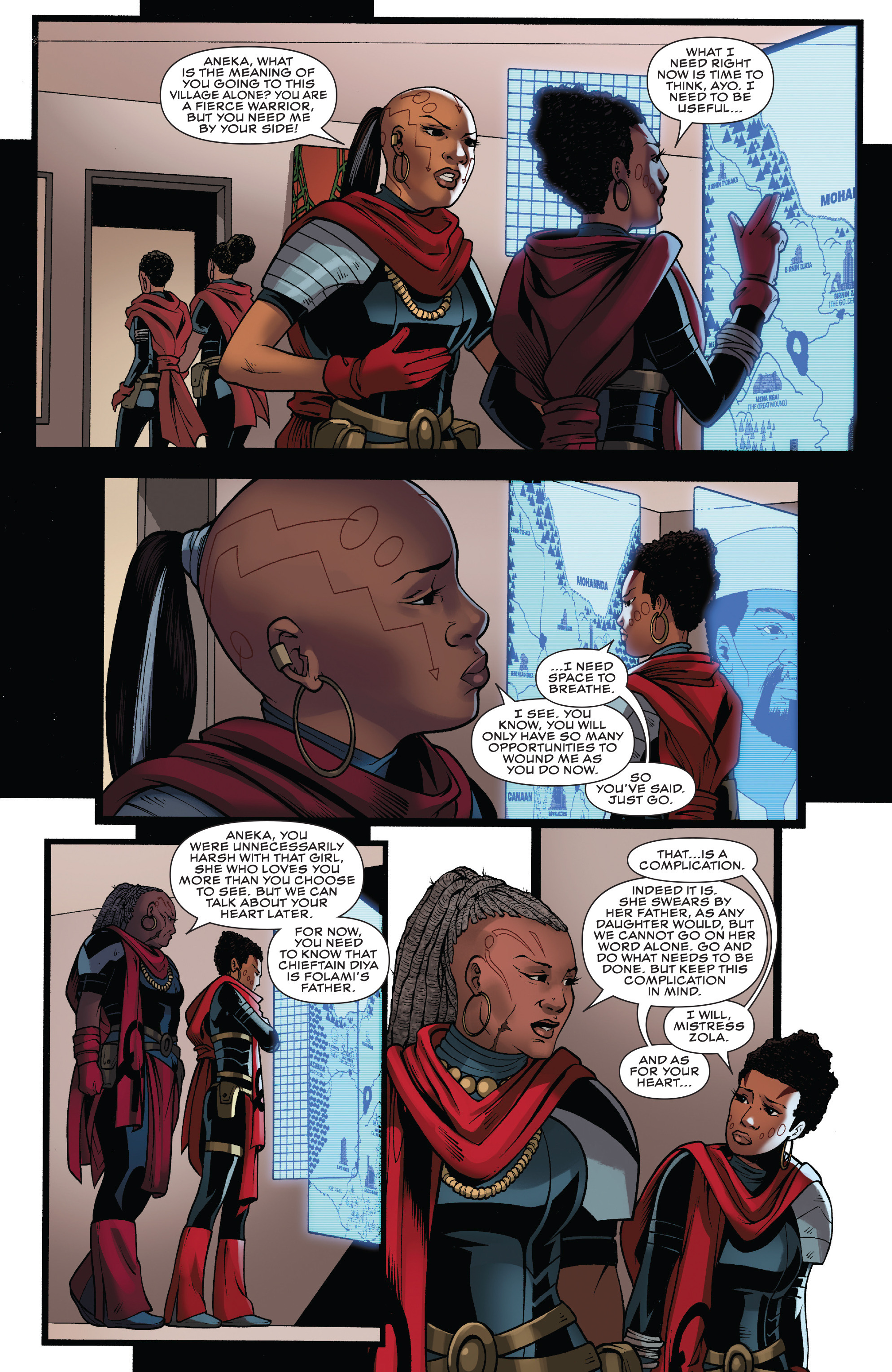 Read online Black Panther: World of Wakanda comic -  Issue #4 - 15