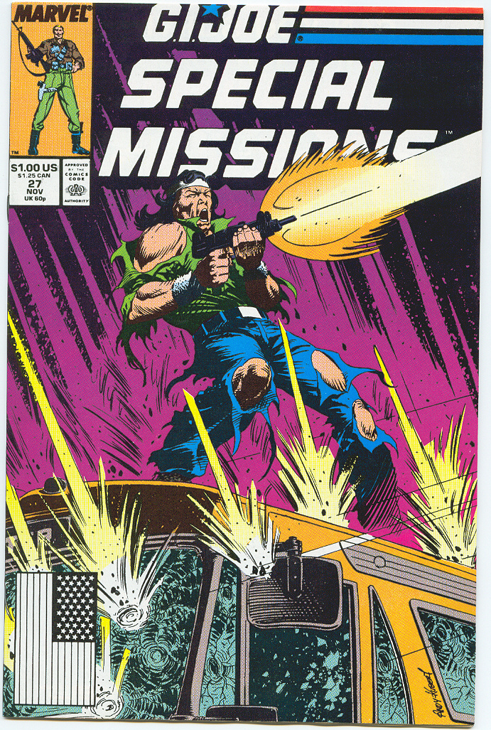 G.I. Joe Special Missions 27 Page 1