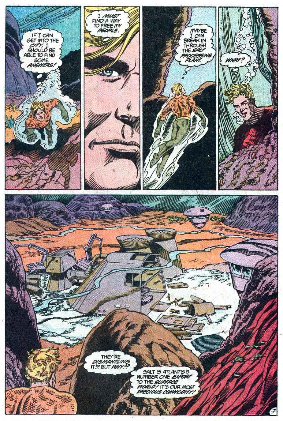 Aquaman (1989) Issue #1 #1 - English 8