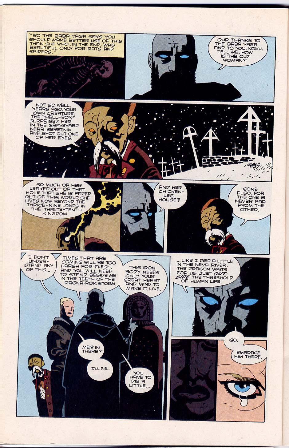 Hellboy: Wake the Devil Issue #4 #4 - English 16