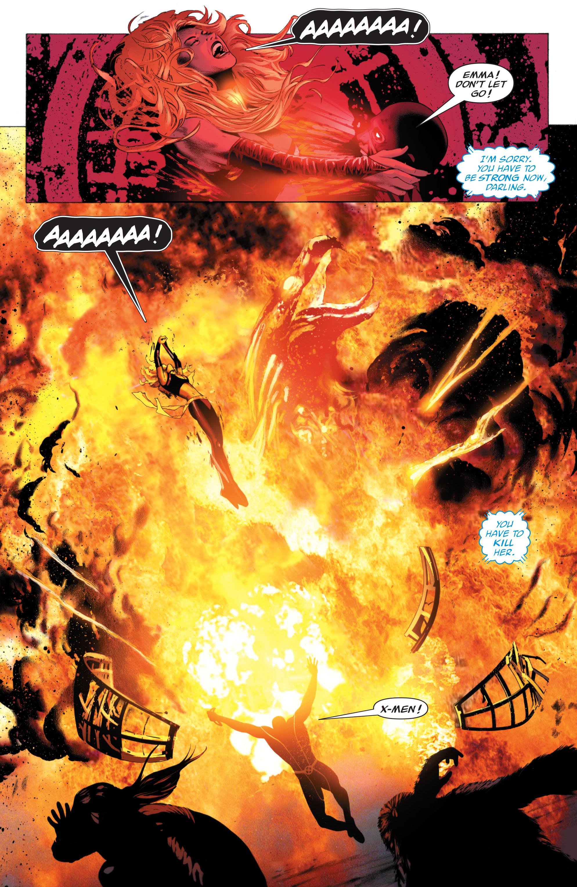 Read online X-Men: Phoenix - Endsong comic -  Issue #5 - 4