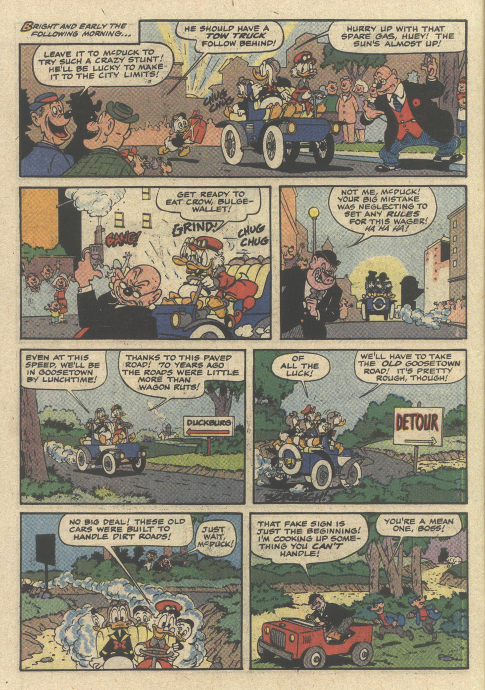 Uncle Scrooge (1953) Issue #239 #239 - English 6