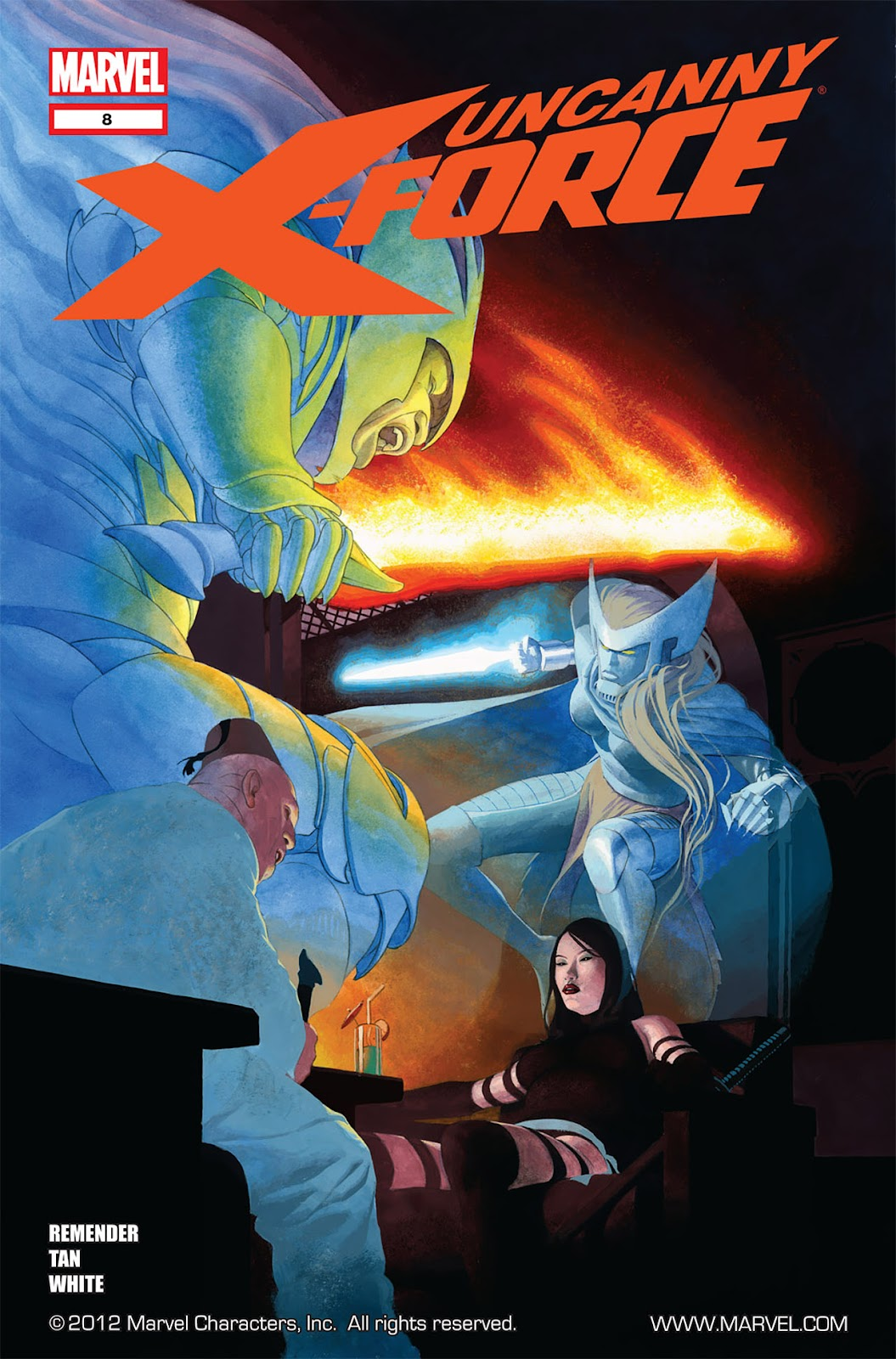 Uncanny X-Force (2010) Issue #8 #9 - English 1