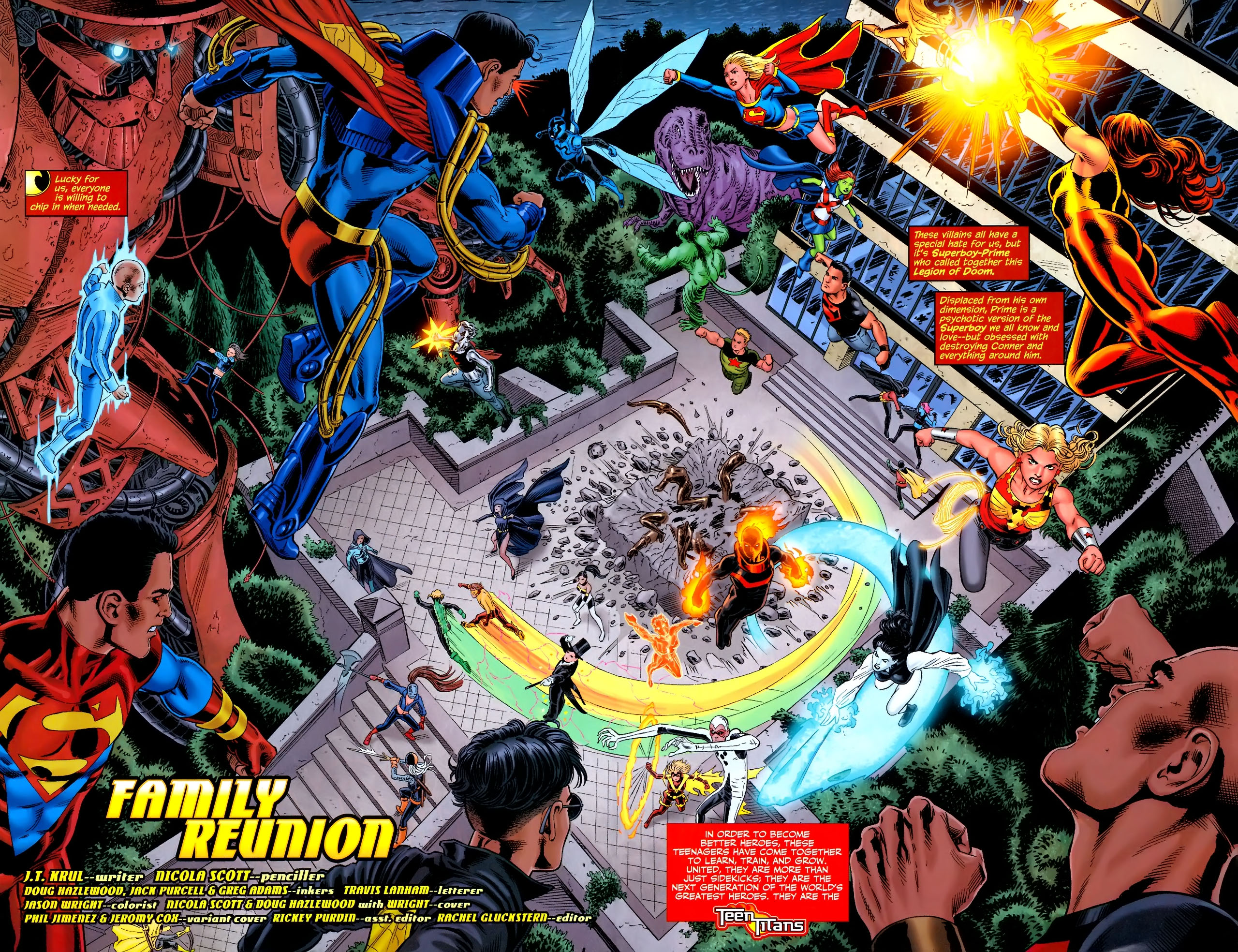 Teen Titans (2003) #100 #110 - English 3