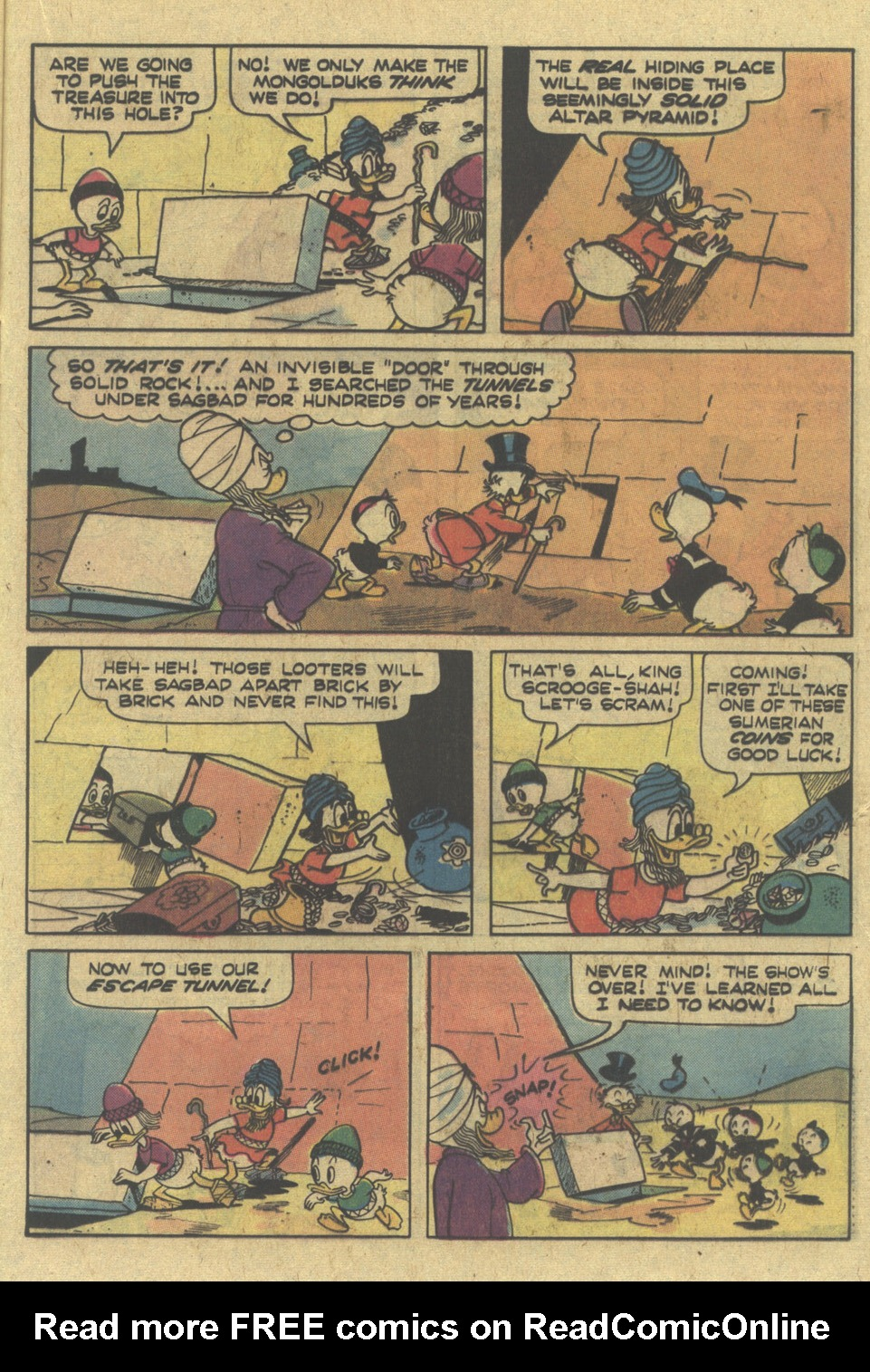 Uncle Scrooge (1953) Issue #145 #145 - English 21